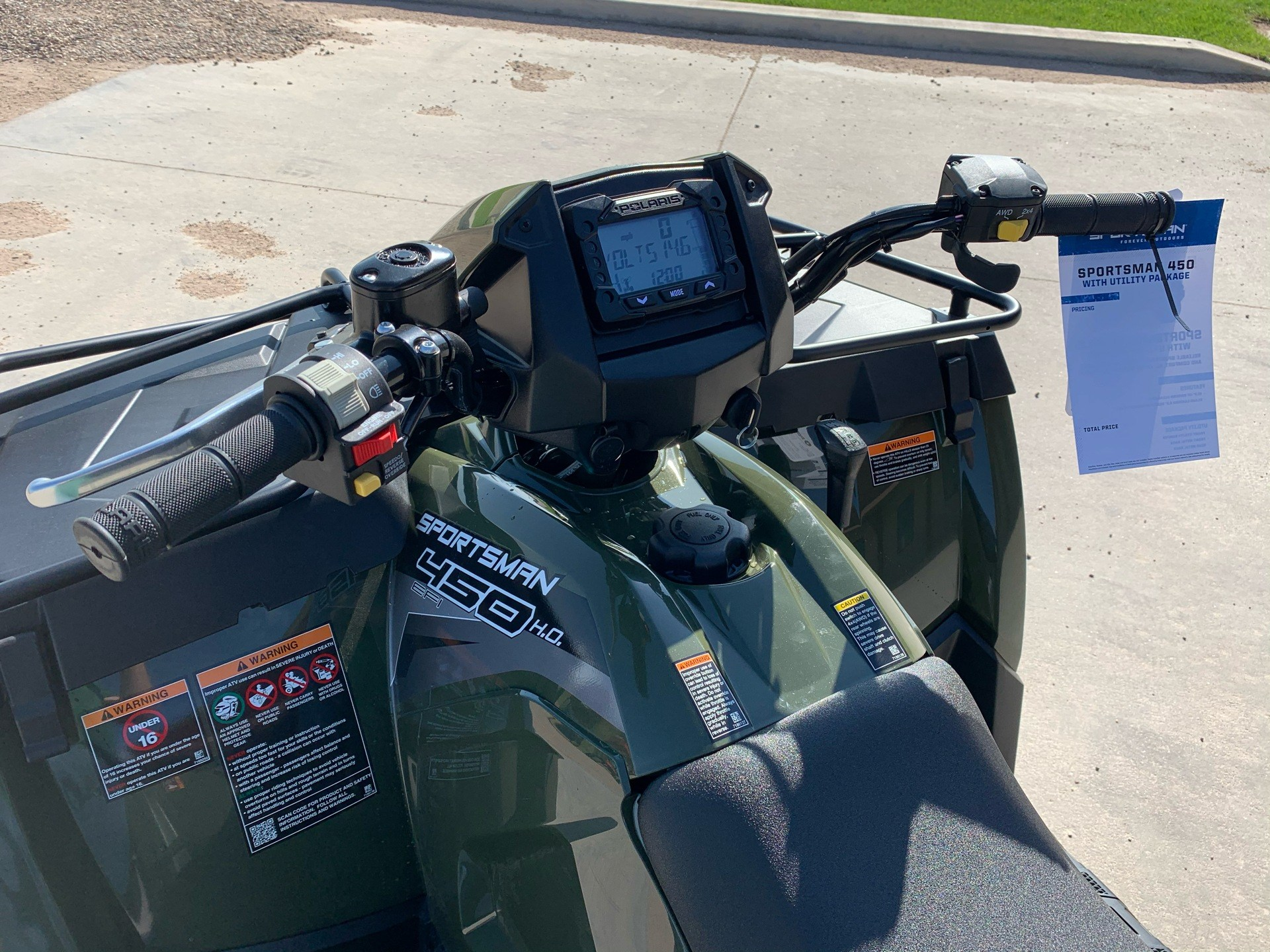 2020 Polaris Sportsman 450 H.O. Utility Package in Montezuma, Kansas - Photo 11