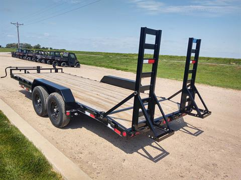 "2020 PJ Trailers 20'X6"" CHANNEL EQUIPMENT in Montezuma, Kansas - Photo 4"