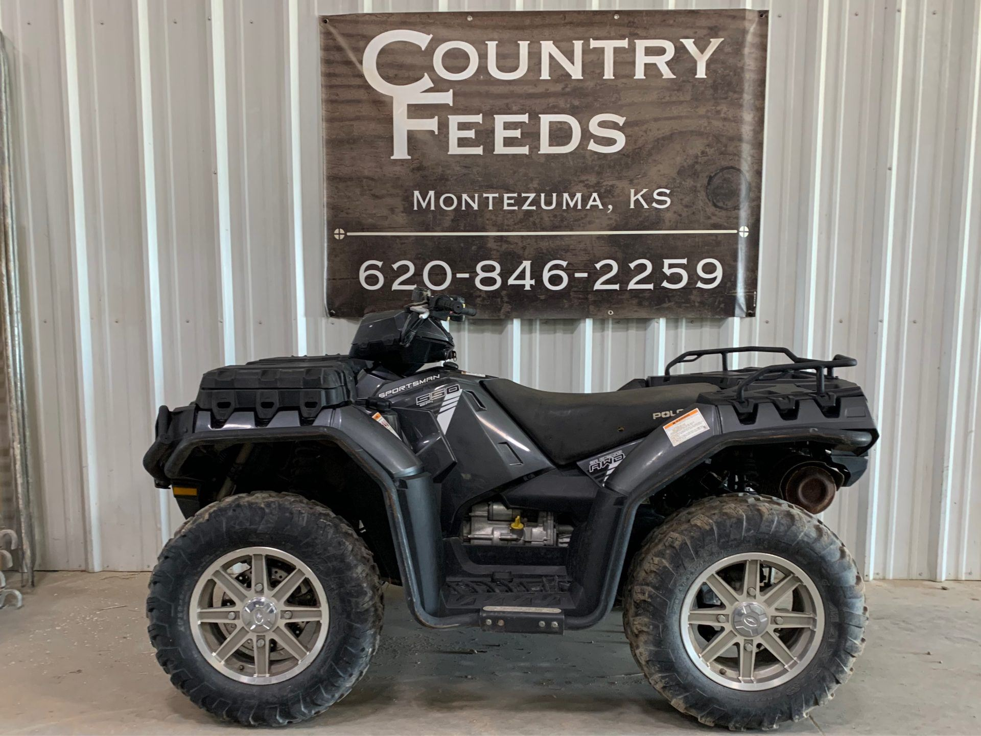 2014 Polaris Sportsman® 550 EPS in Montezuma, Kansas - Photo 1