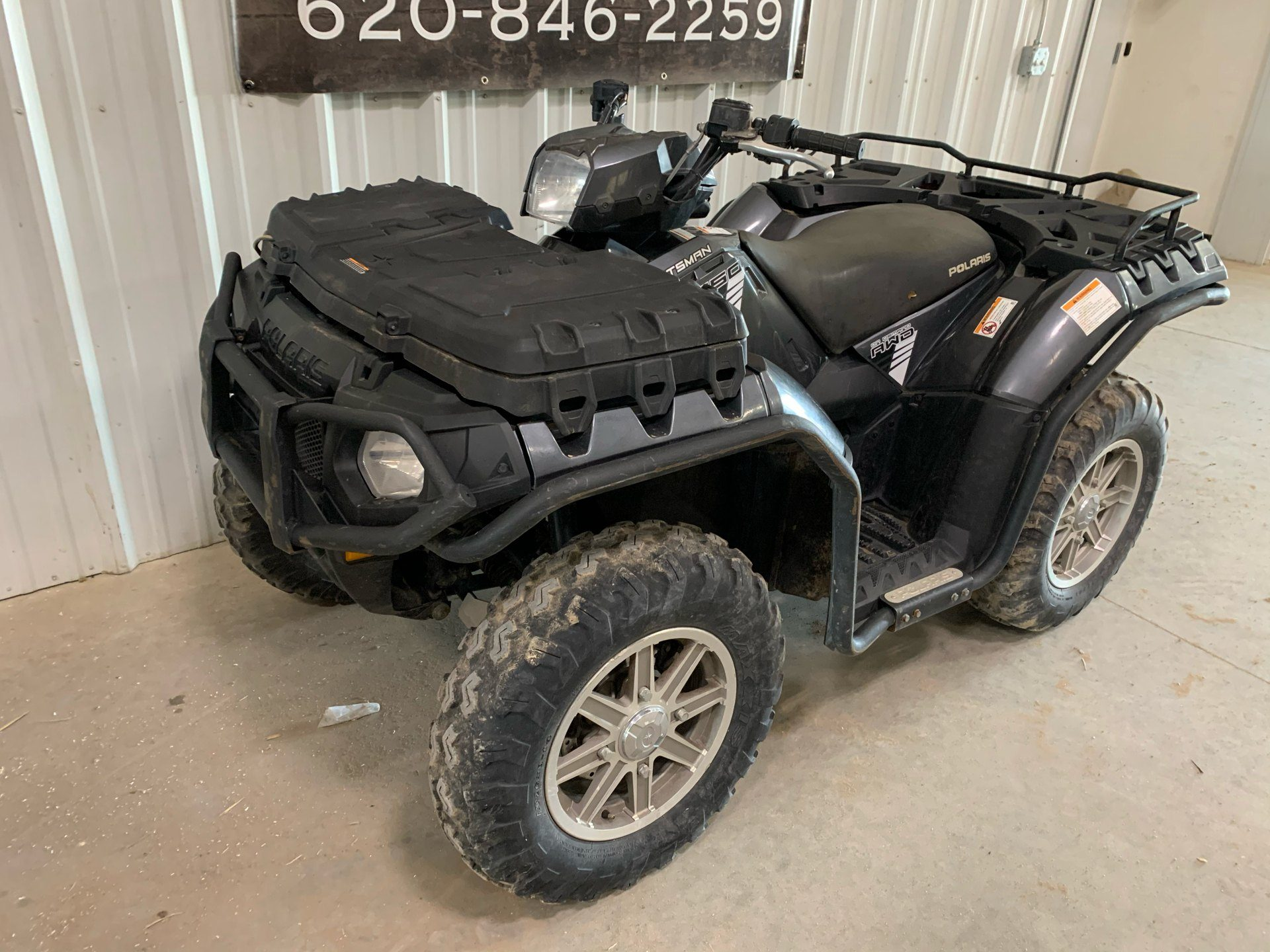 2014 Polaris Sportsman® 550 EPS in Montezuma, Kansas - Photo 2