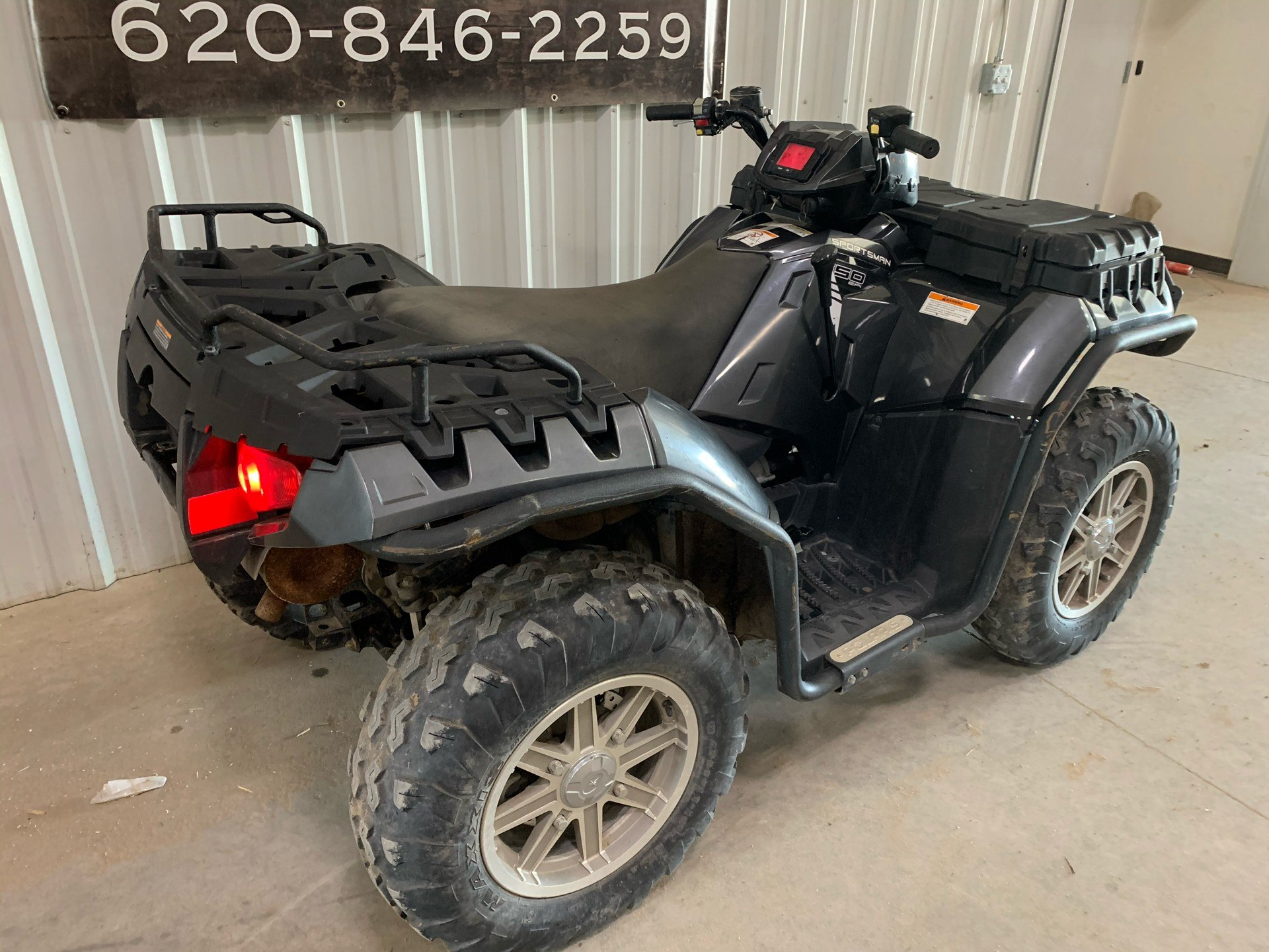 2014 Polaris Sportsman® 550 EPS in Montezuma, Kansas - Photo 8
