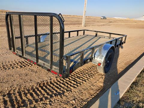 "2021 PJ Trailers 12' X 77"" S/A UTILITY in Montezuma, Kansas - Photo 5"