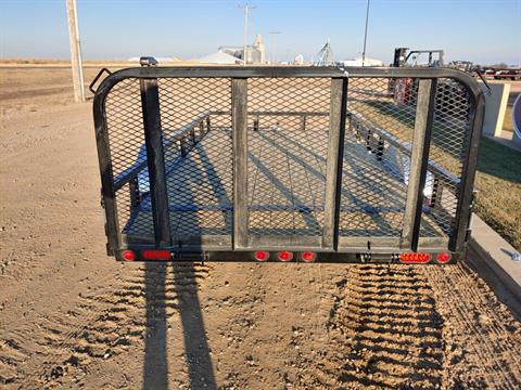 "2021 PJ Trailers 12' X 77"" S/A UTILITY in Montezuma, Kansas - Photo 6"
