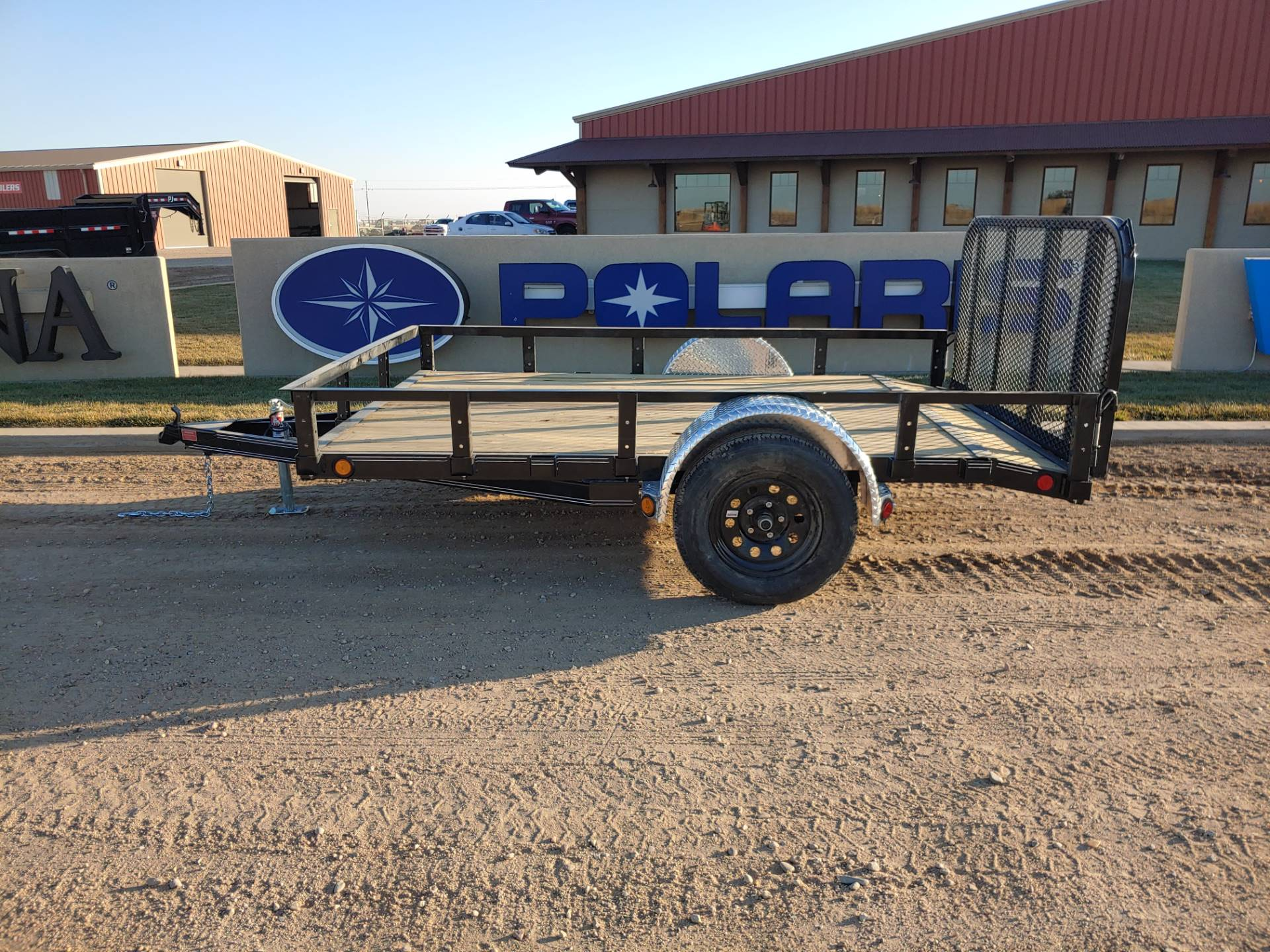 "2021 PJ Trailers 10'X77"" S/A UTILITY in Montezuma, Kansas - Photo 1"