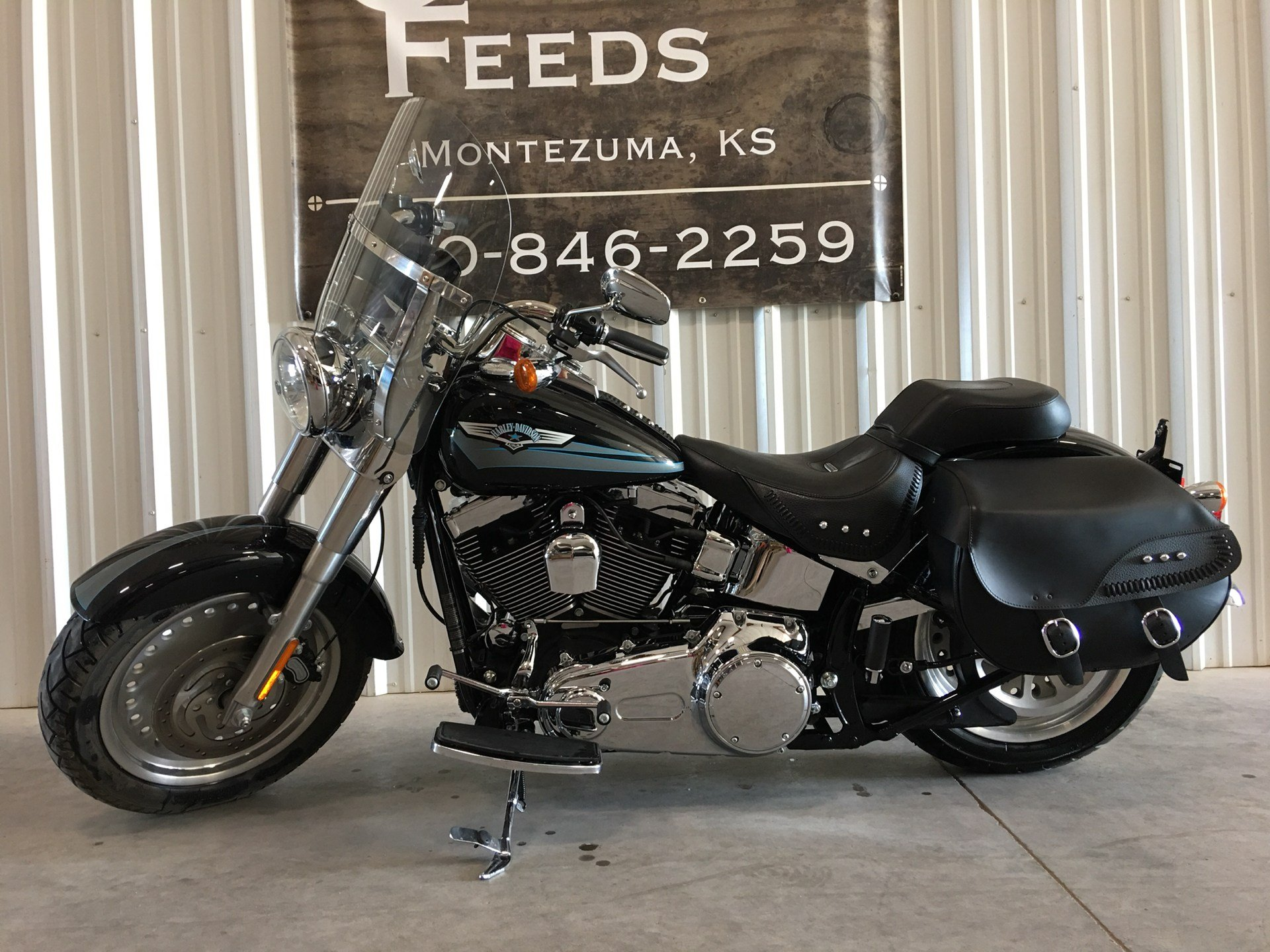 2008 Harley-Davidson Softail® Fat Boy® in Montezuma, Kansas - Photo 1