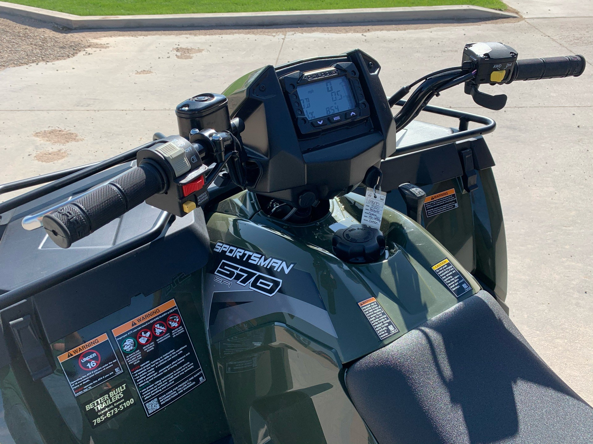 2020 Polaris Sportsman 570 EPS Utility Package in Montezuma, Kansas - Photo 11