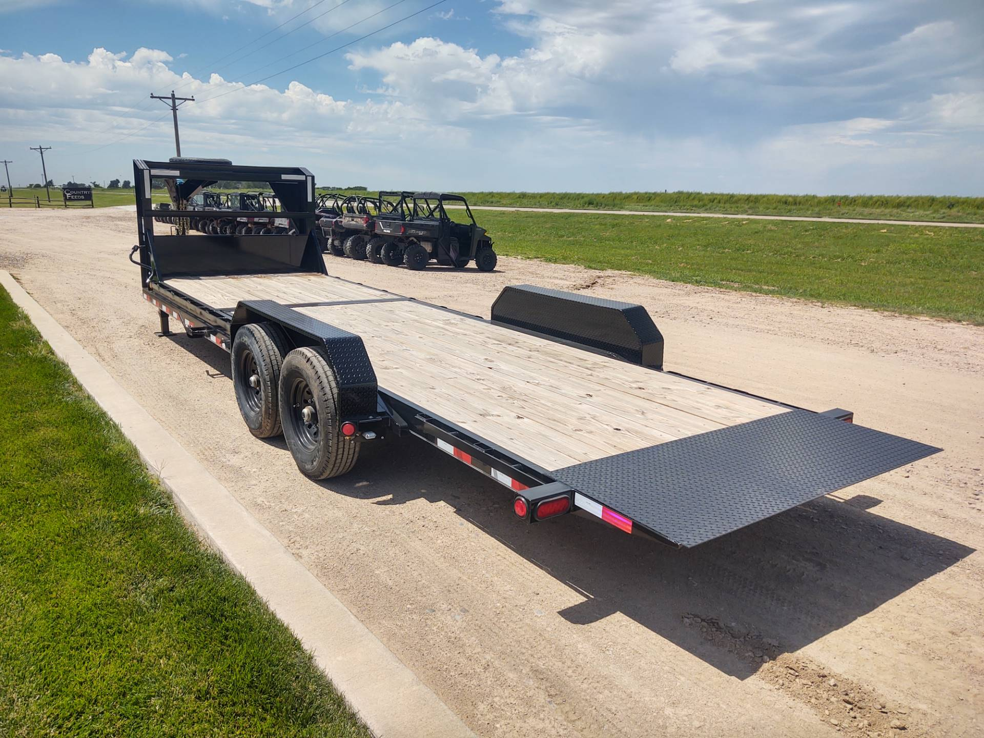 "2020 PJ Trailers 26' X 6"" CHANNEL EQUIPMENT TILT in Montezuma, Kansas - Photo 4"