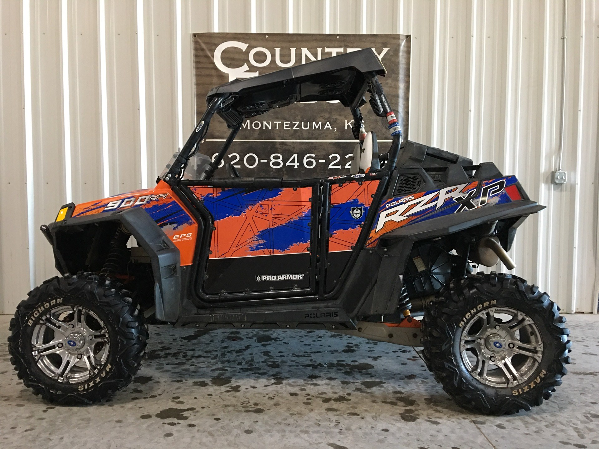 2013 Polaris RZR® XP 900 EPS LE in Montezuma, Kansas - Photo 1