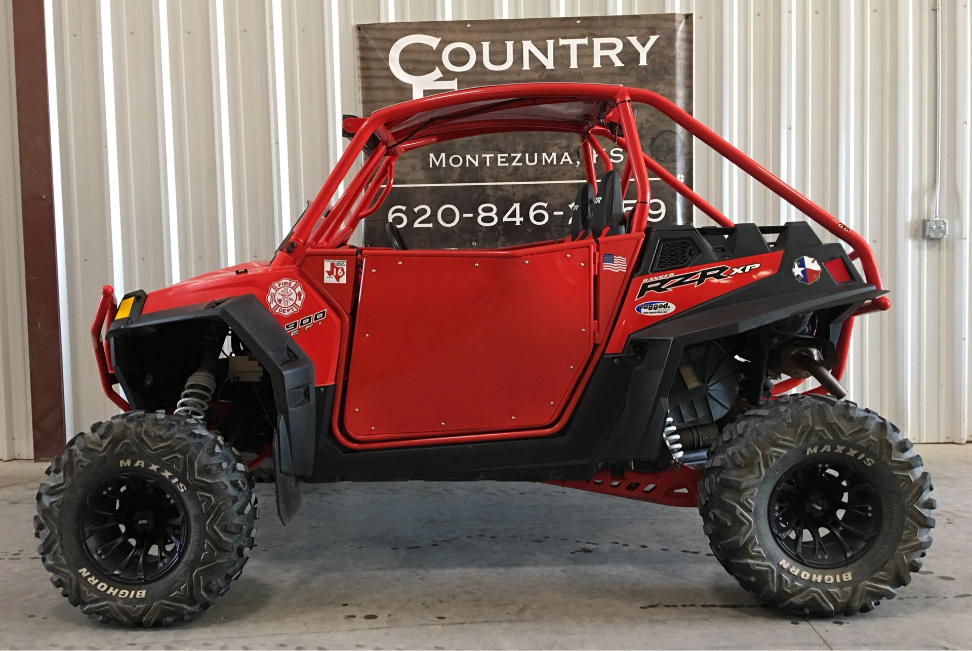 2011 Polaris Ranger RZR® XP 900 in Montezuma, Kansas - Photo 1