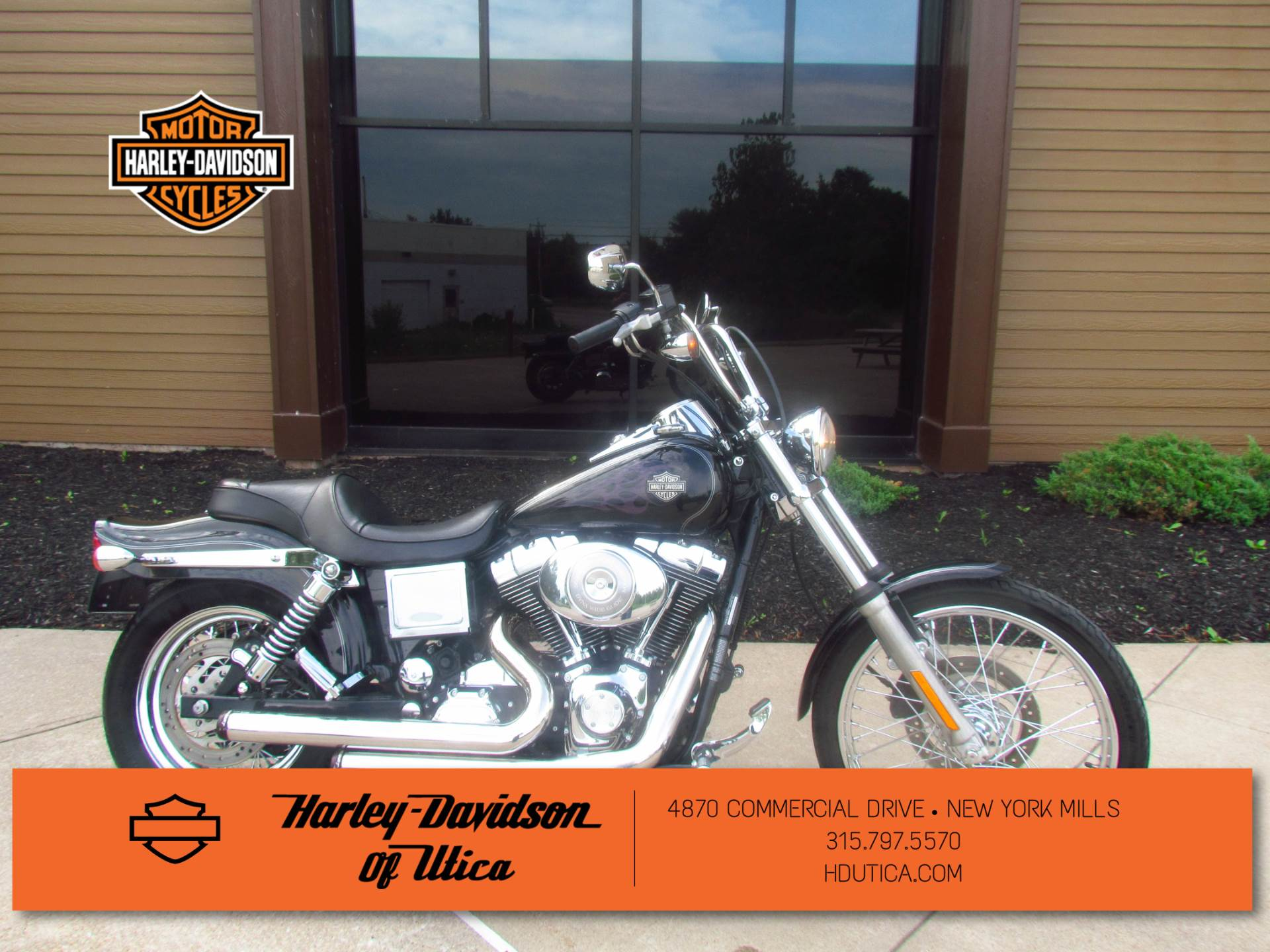 2005 Harley-Davidson FXDWG/FXDWGI Dyna Wide Glide® in New York Mills, New York - Photo 1
