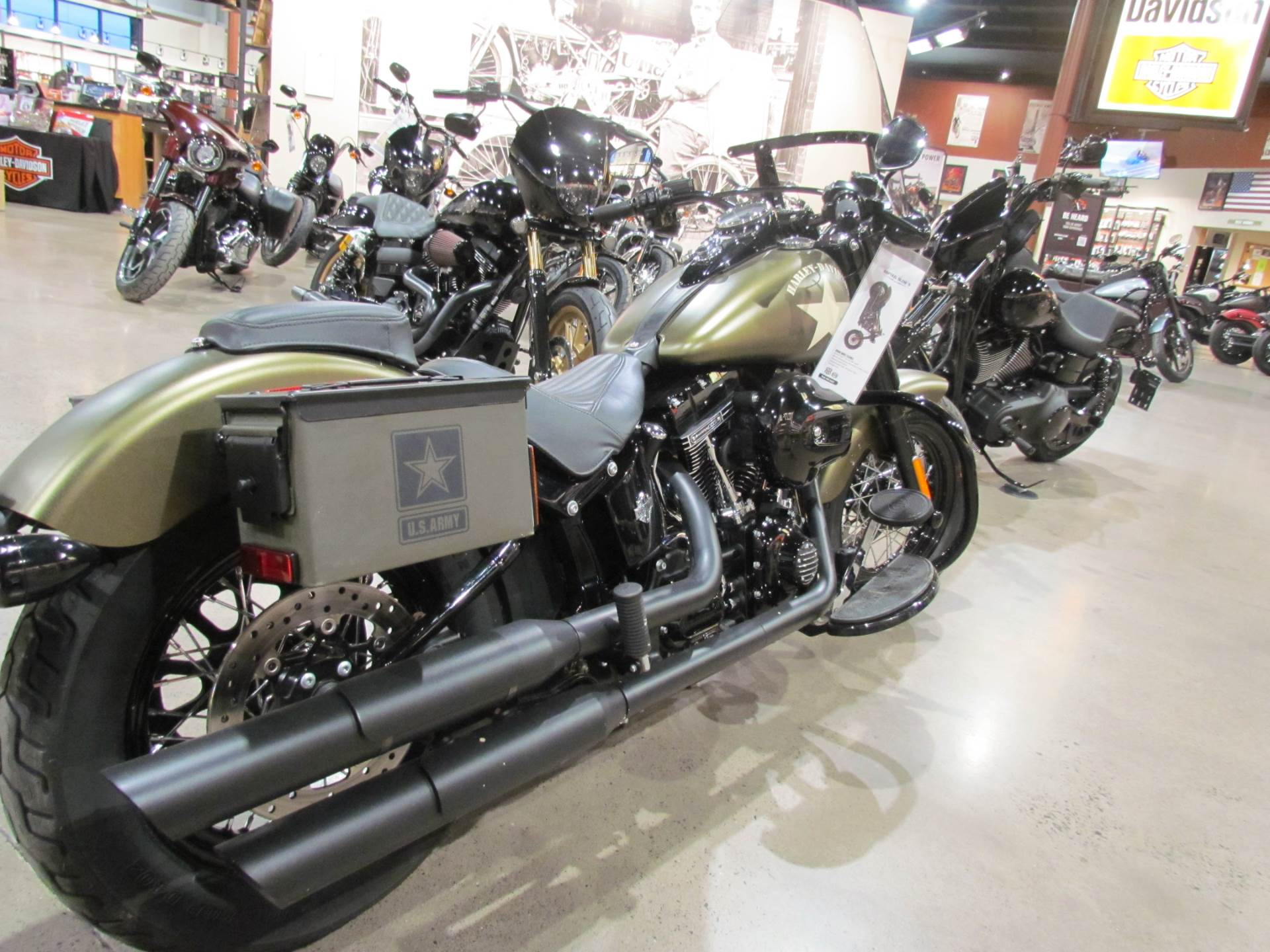 Harley Davidson Knucklehead Flathead Black Leather Thin Style Solo Seat