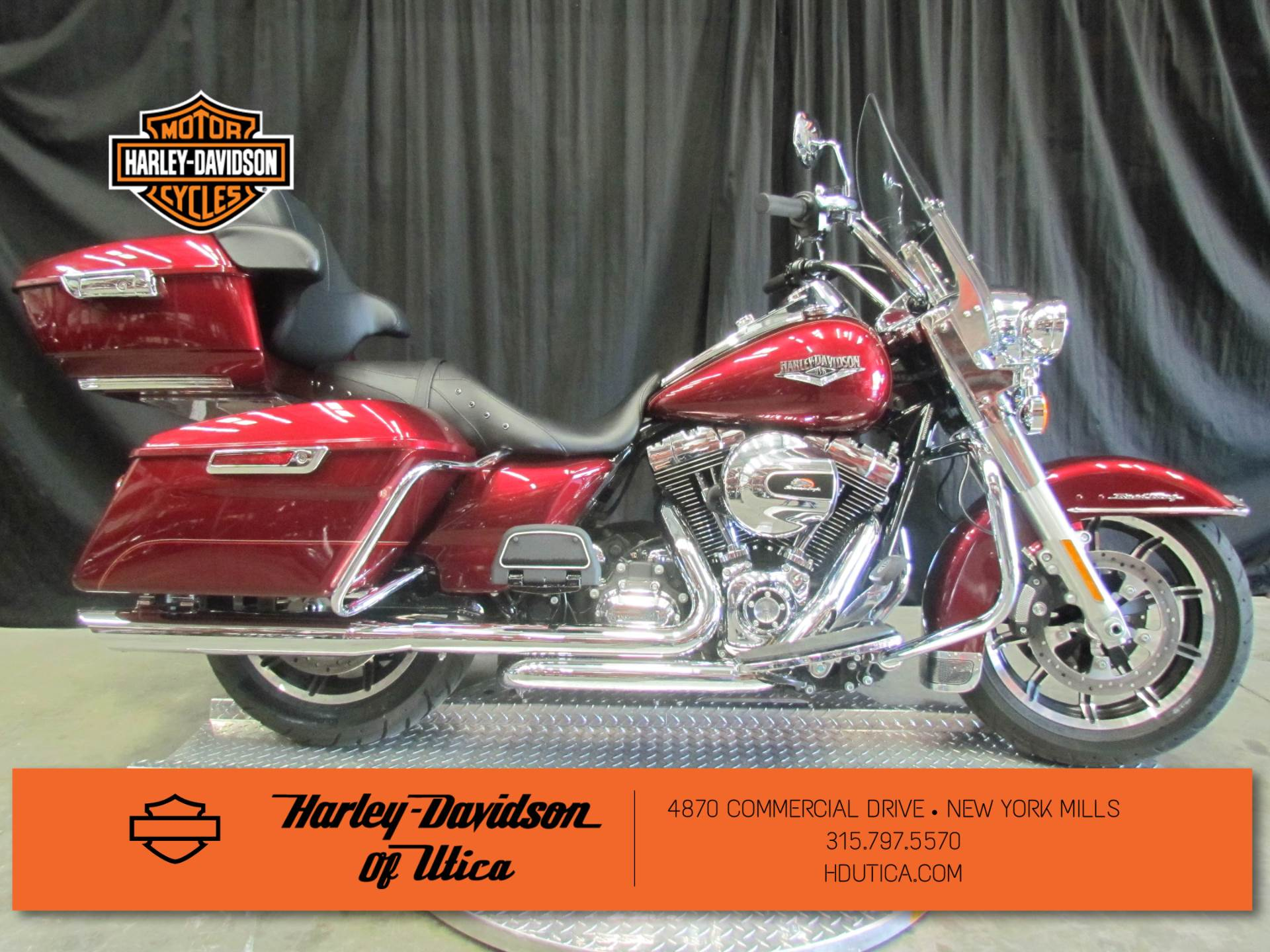2016 Harley-Davidson Road King® in New York Mills, New York - Photo 1