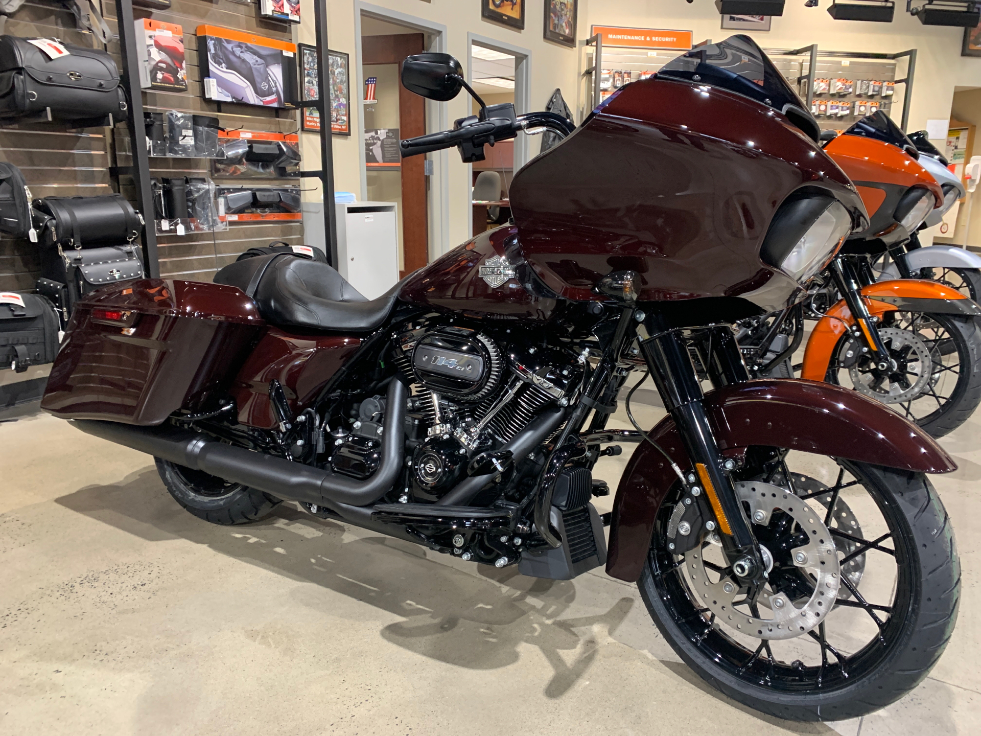 New 2021 Harley-Davidson Road Glide® Special Midnight Crimson (Black Pearl  Option) | Motorcycles in New York Mills NY | MB600486