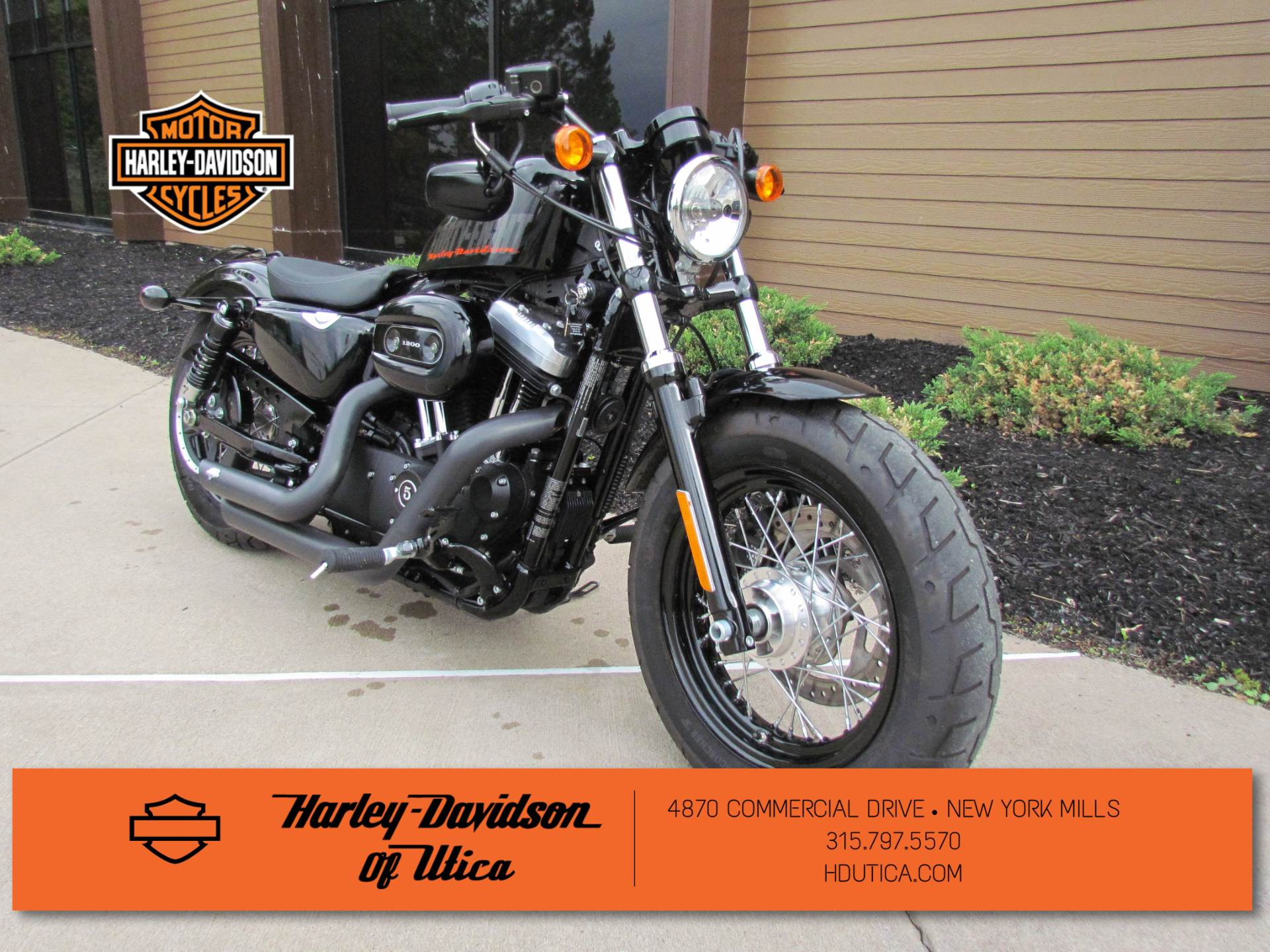 2015 Harley-Davidson Forty-Eight® in New York Mills, New York - Photo 2