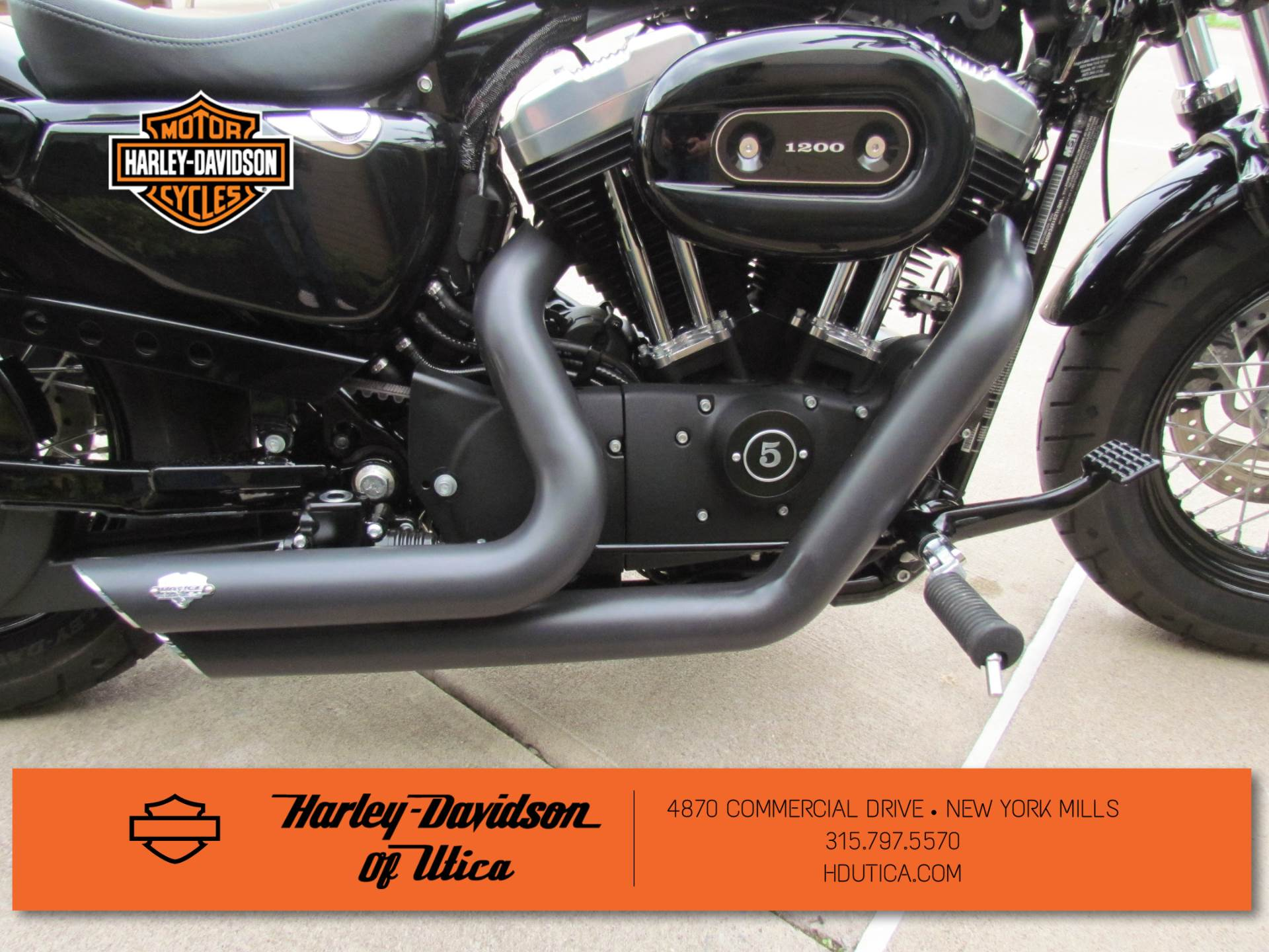 2015 Harley-Davidson Forty-Eight® in New York Mills, New York - Photo 8