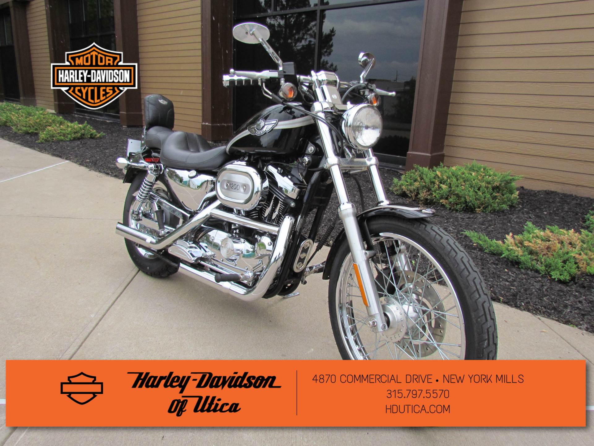 2003 Harley-Davidson XL 1200C Sportster® 1200 Custom in New York Mills, New York - Photo 2
