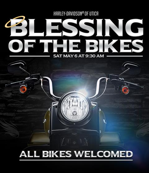 harley-davidson of utica blessing of the bikes and breakfast