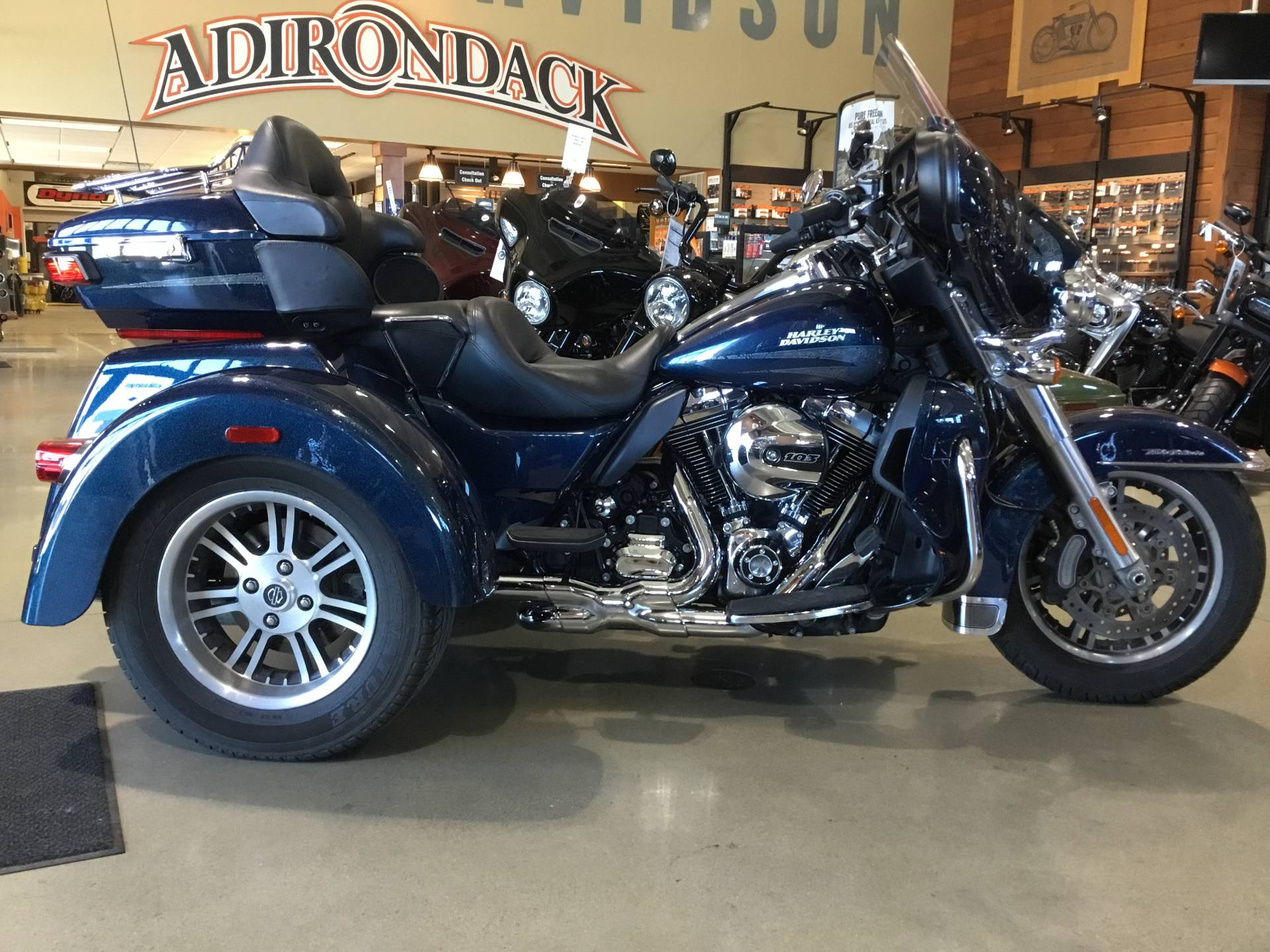 The 2016 Harley Davidson Tri Glide Ultra Provides Three: Used 2016 Harley-Davidson Tri Glide® Ultra Trikes In New