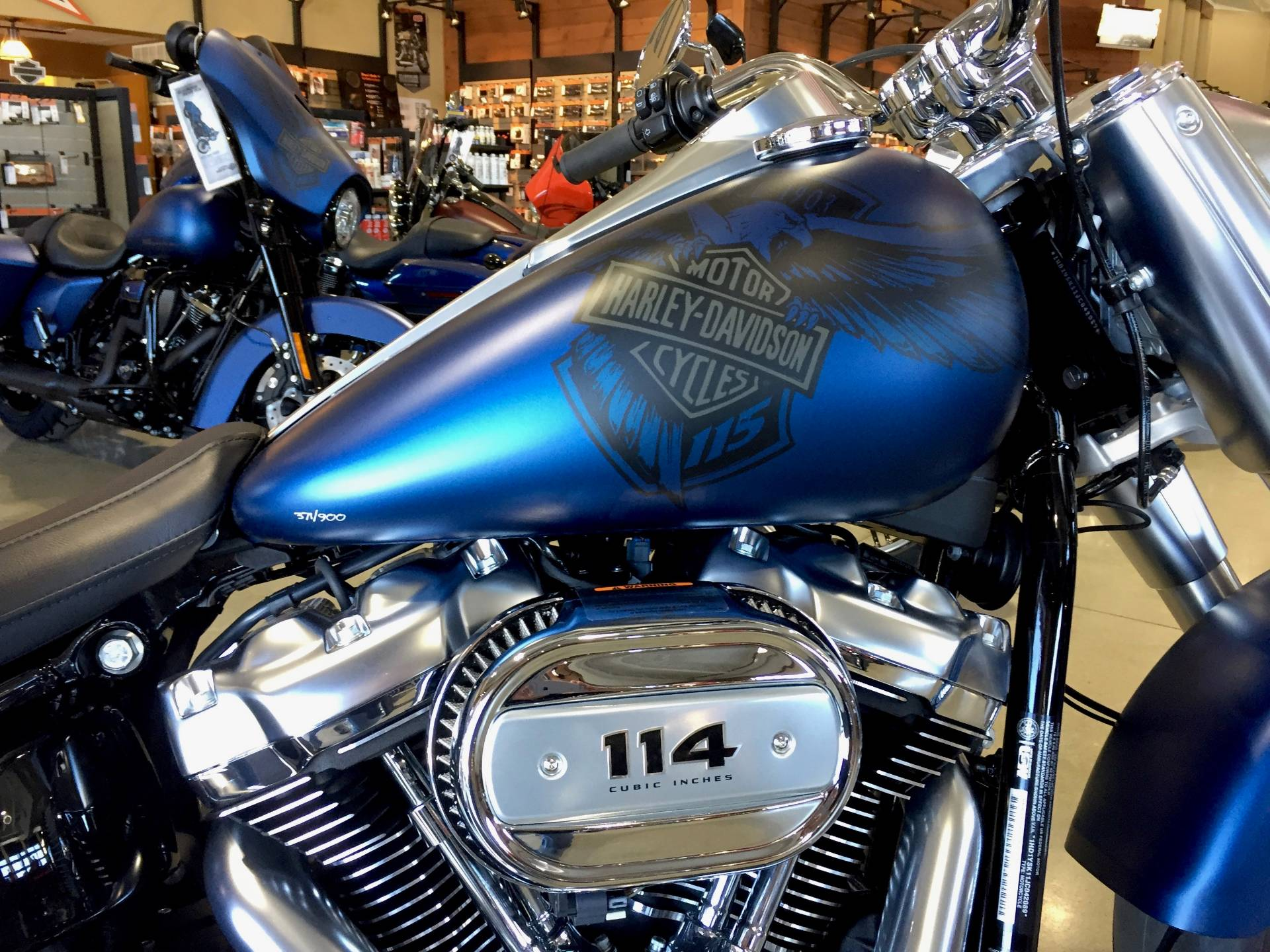 2018 Harley-Davidson 115th Anniversary Fat Boy®114 in Broadalbin, New York
