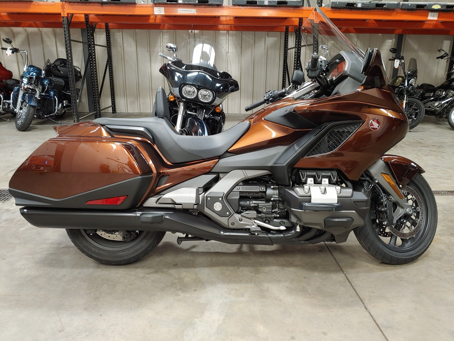2018 Honda Gold Wing DCT in Broadalbin, New York - Photo 1