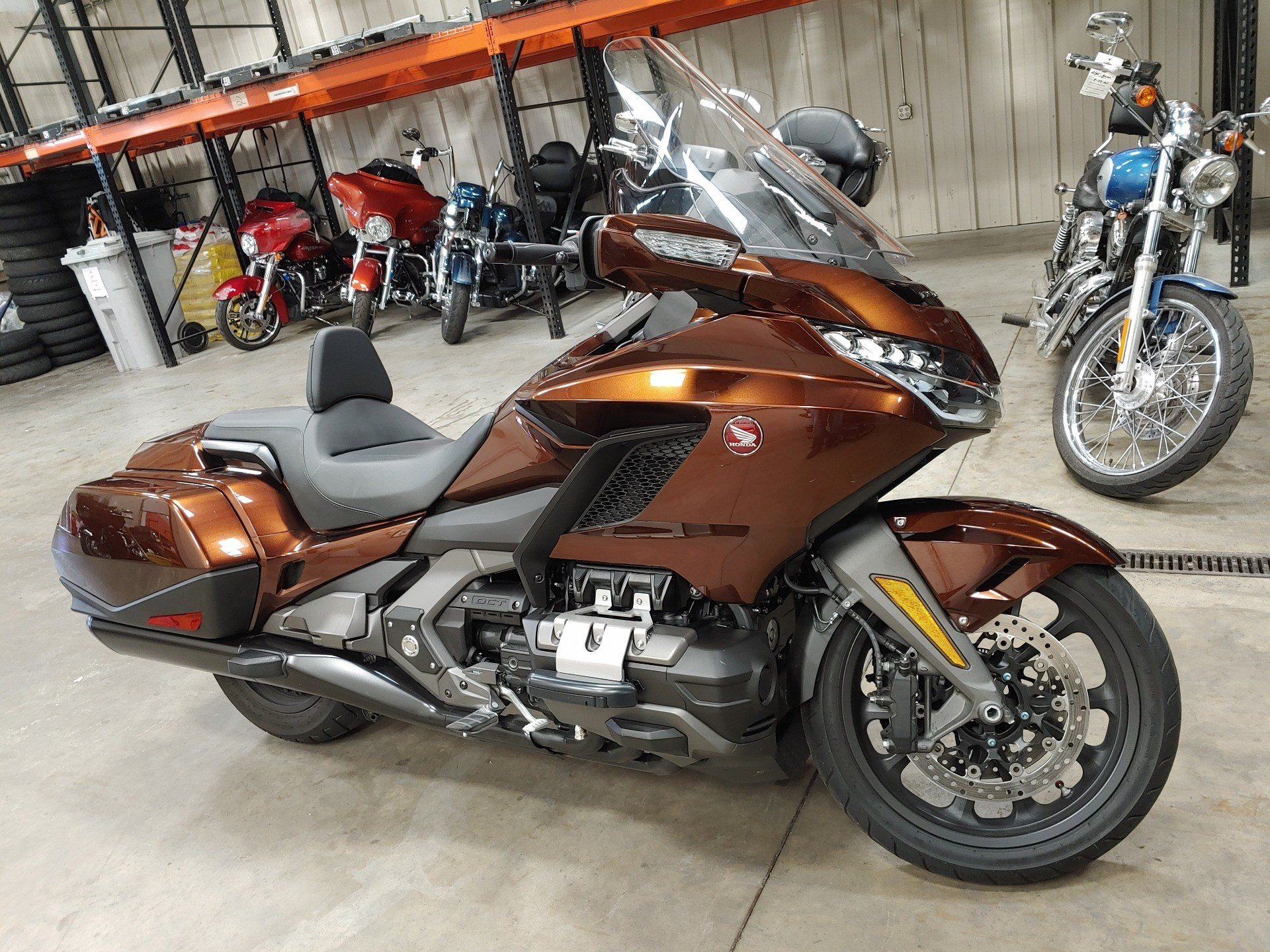 2018 Honda Gold Wing DCT in Broadalbin, New York - Photo 3