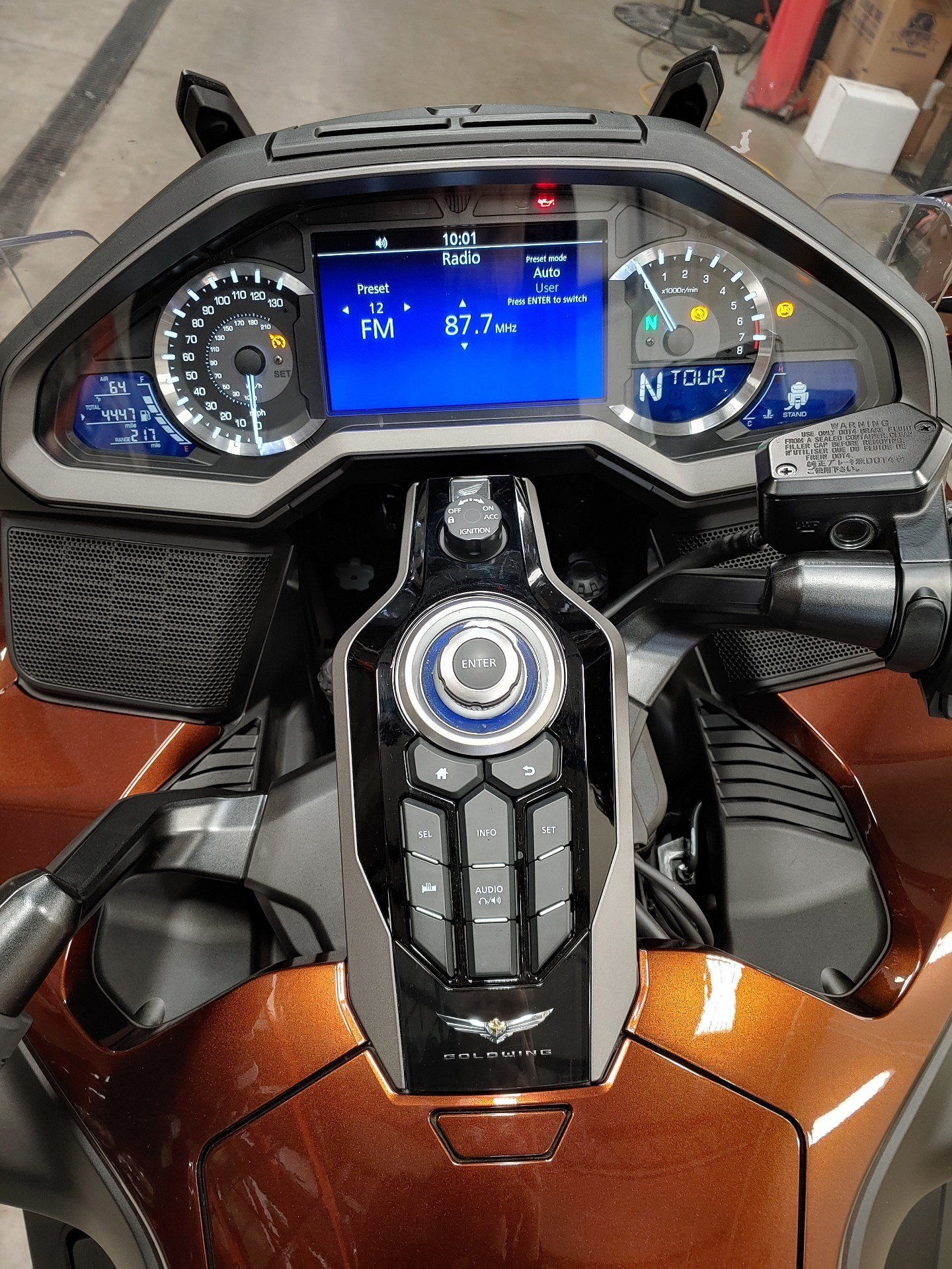 2018 Honda Gold Wing DCT in Broadalbin, New York - Photo 7