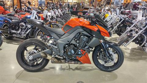 2012 Kawasaki Z1000 in Broadalbin, New York