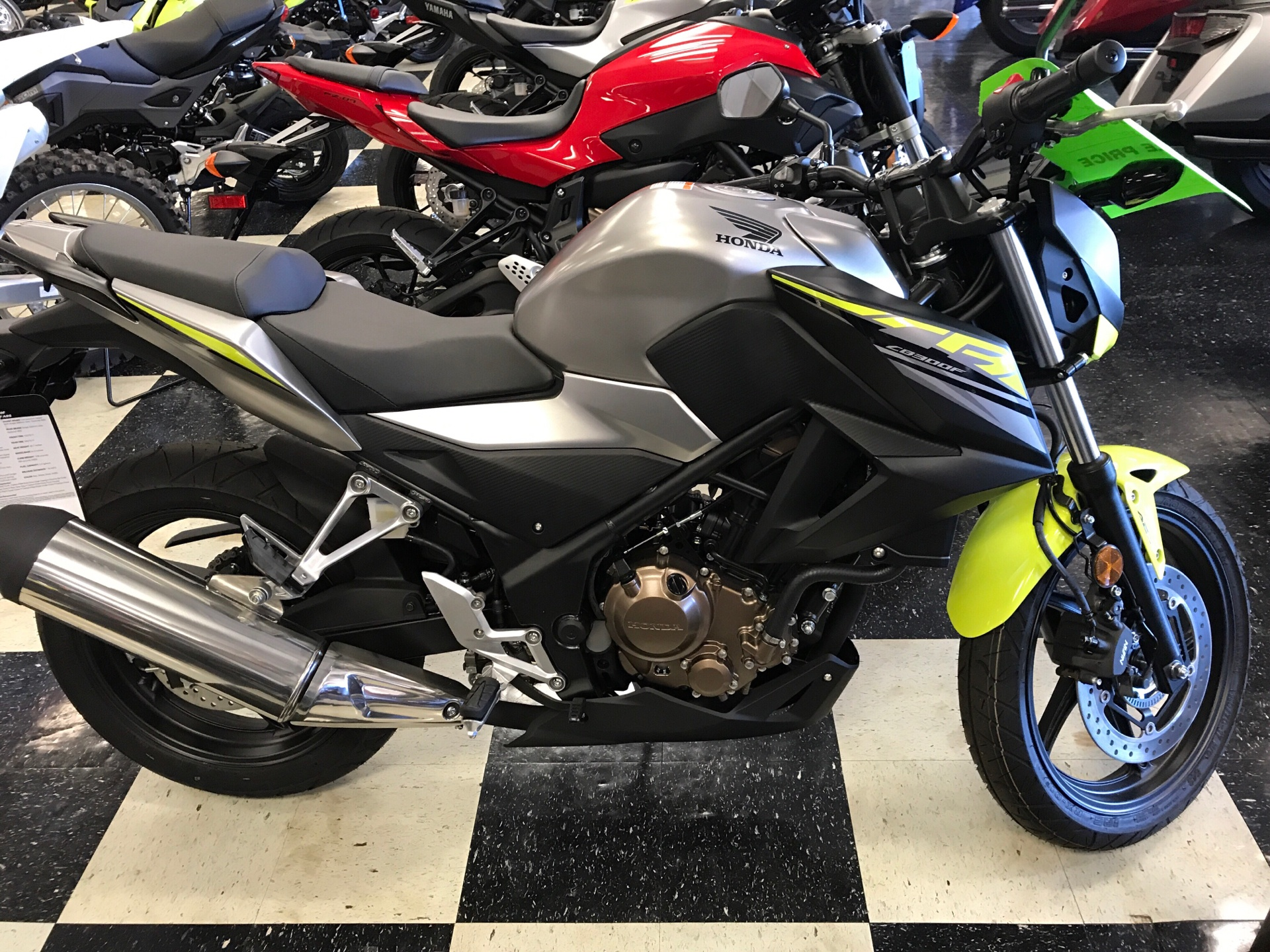 2017 Honda CB300F ABS in Gulfport, Mississippi