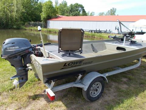 2016 Lowe ROUGHNECK 1655 BIG RIVER W/ YAMAHA 25 & TRAILER in West Plains, Missouri - Photo 14