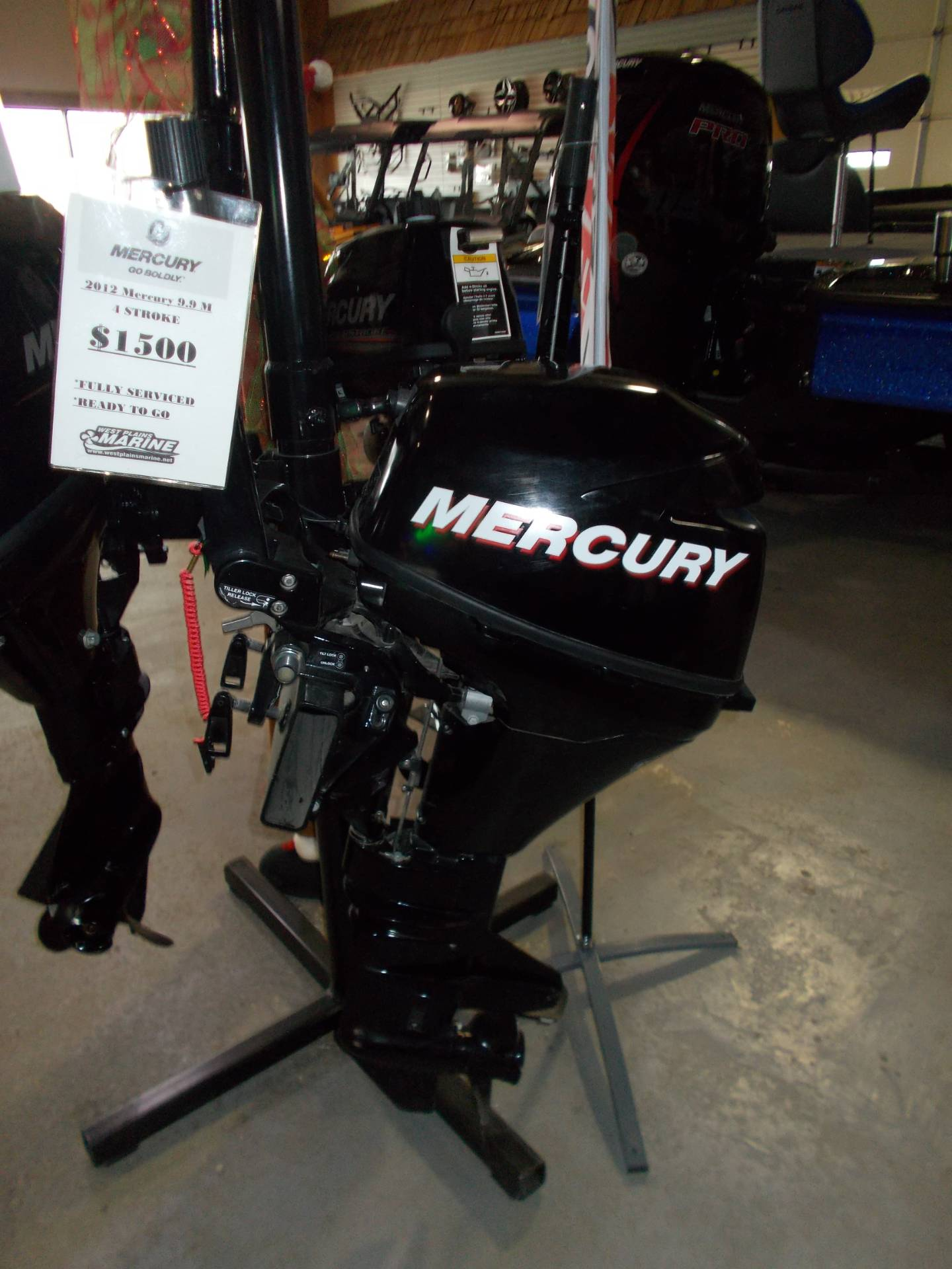 Mercury Marine 9.9MH FourStroke in West Plains, Missouri - Photo 2