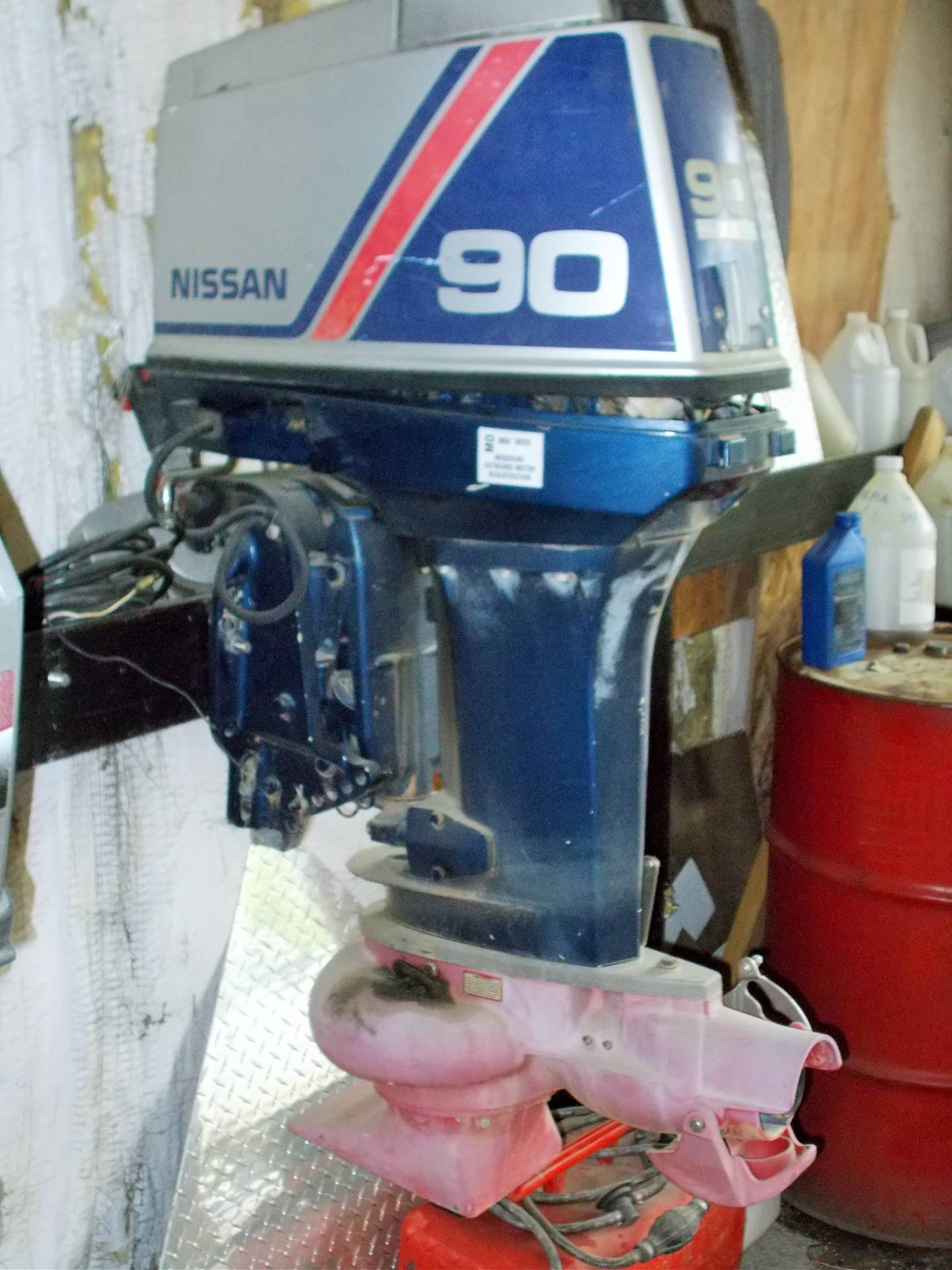 Nissan 90 JET-PARTS ONLY MOTOR in West Plains, Missouri - Photo 1