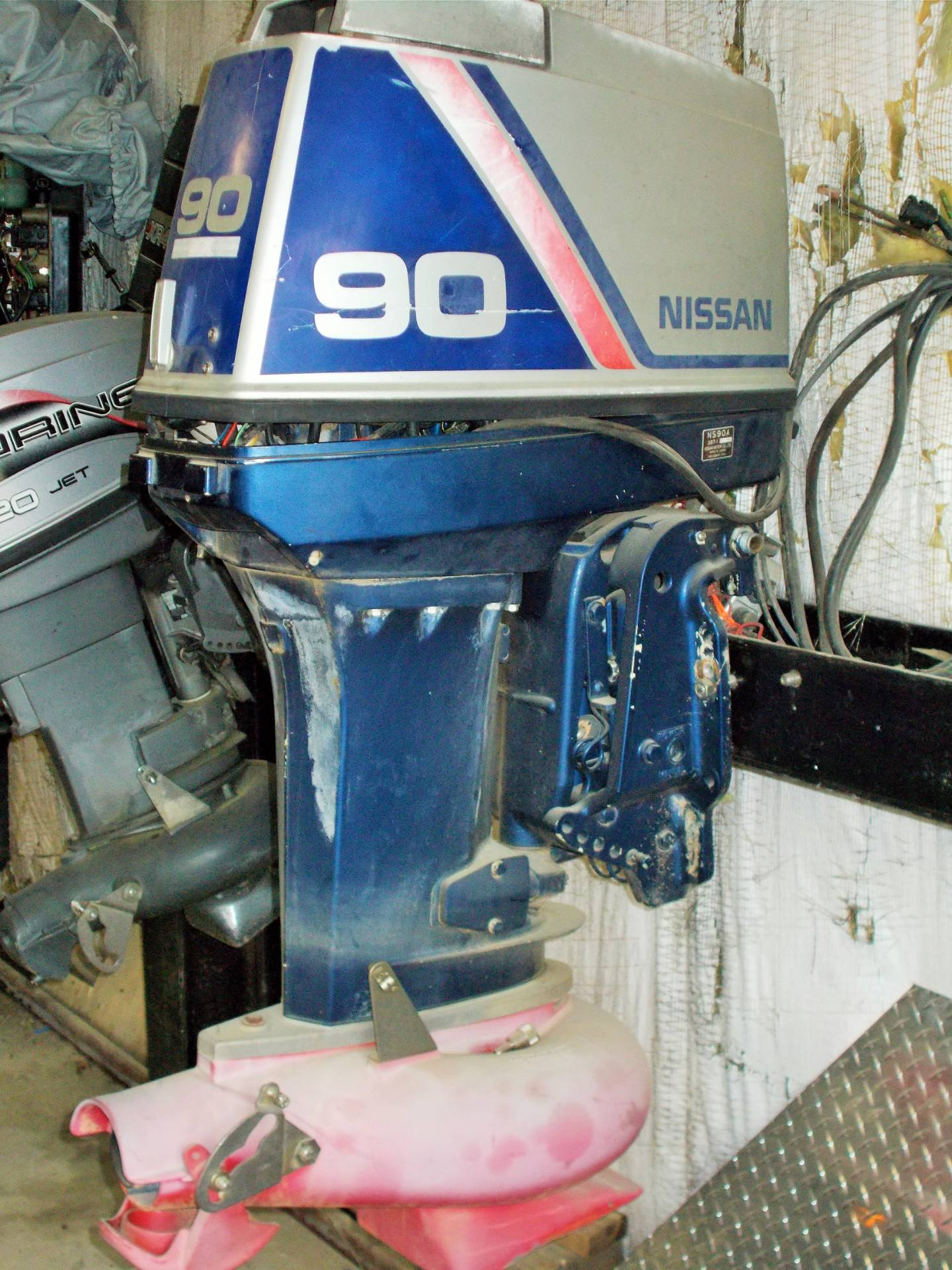 1993 Nissan 90 JET-PARTS ONLY MOTOR in West Plains, Missouri - Photo 2