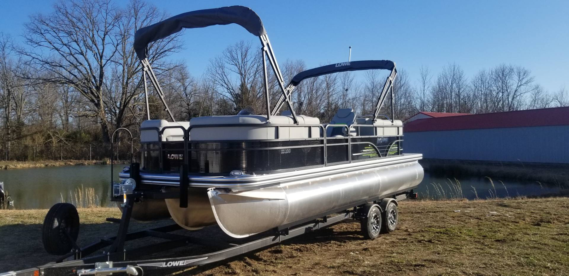 2019 Lowe SS230 WT TL W/ MERCURY 200L & TRAILER in West Plains, Missouri - Photo 5