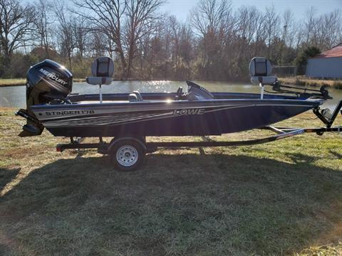 2016 Lowe STINGER 178 W/ 2018 MERCURY 90H 4S & TRAILER in West Plains, Missouri
