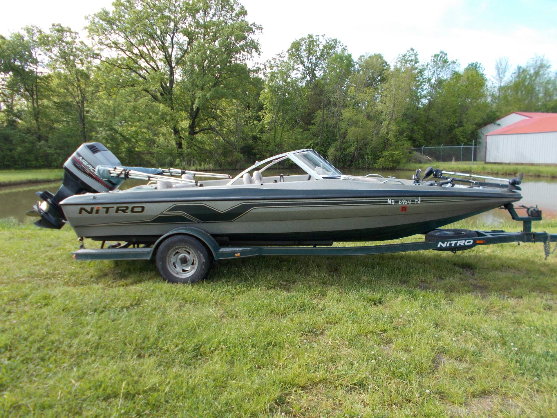 1999 Tracker NITRO 205 SPORT SF W/ MERCURY 150 XR6 & TRAILER in West Plains, Missouri - Photo 1