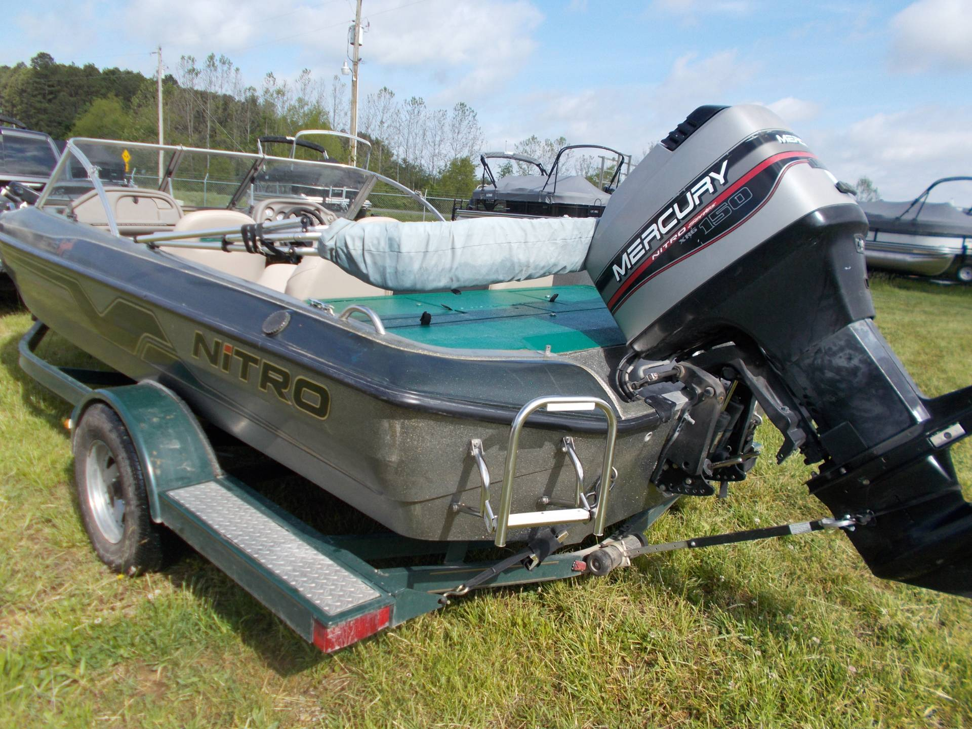 1999 Tracker NITRO 205 SPORT SF W/ MERCURY 150 XR6 & TRAILER in West Plains, Missouri - Photo 5