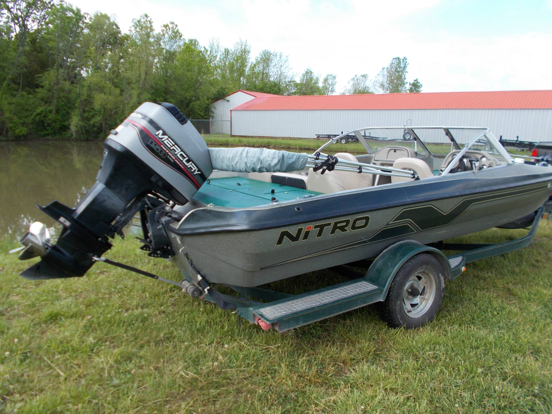 1999 Tracker NITRO 205 SPORT SF W/ MERCURY 150 XR6 & TRAILER in West Plains, Missouri - Photo 19