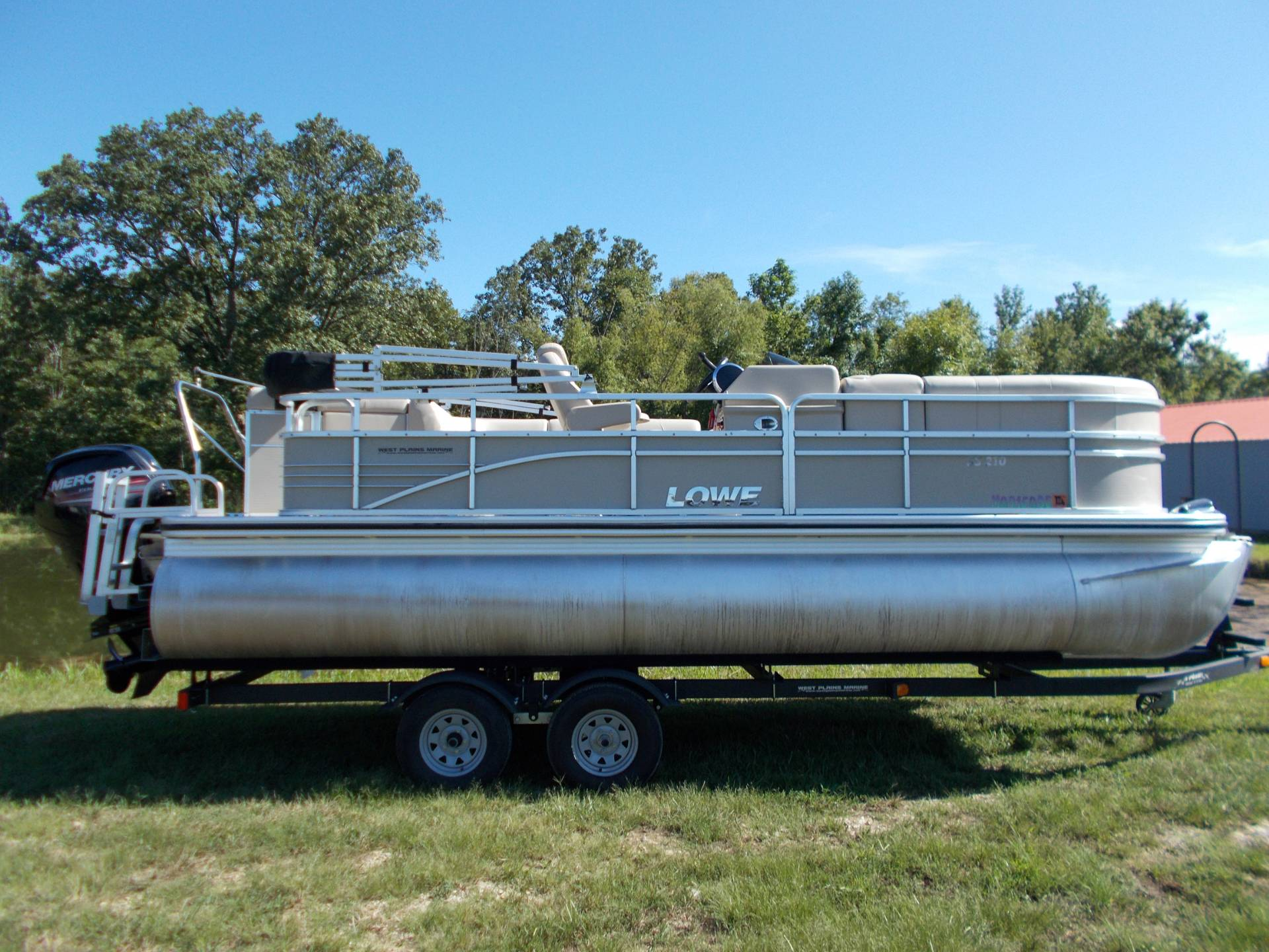 2015 Lowe SS210 W/ MERCURY 90H 4S & TRAILER in West Plains, Missouri - Photo 2