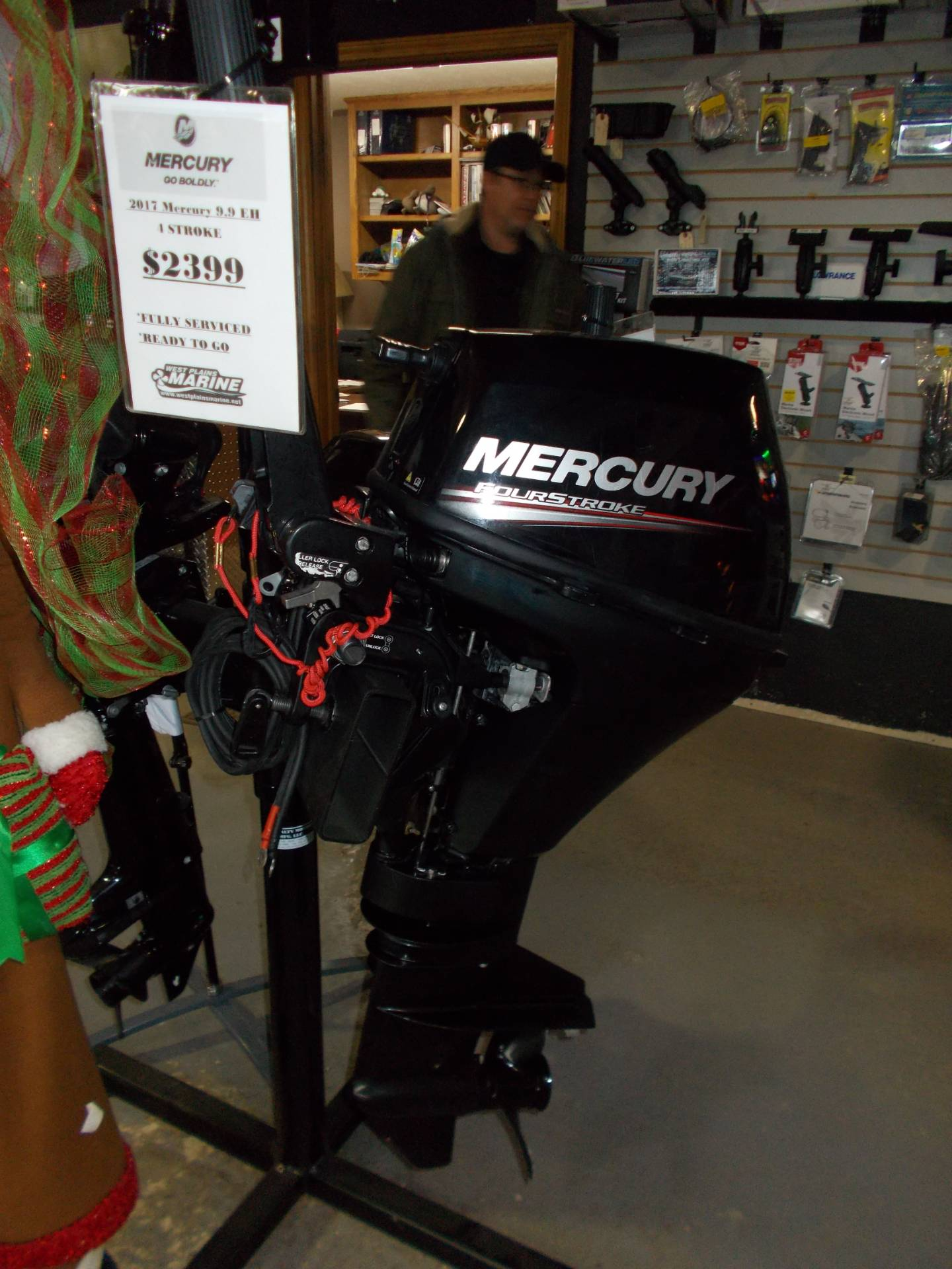 Mercury Marine 9.9EH FourStroke in West Plains, Missouri - Photo 2