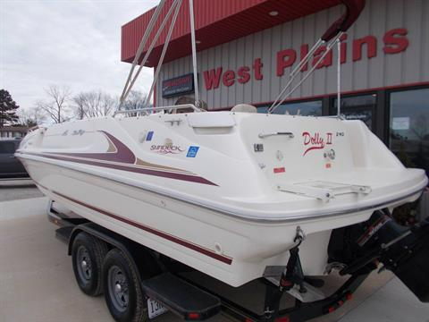 1996 SEARAY SUNDECK 240 W/ 5.7L I/OW/ '96 TRAILER in West Plains, Missouri - Photo 6