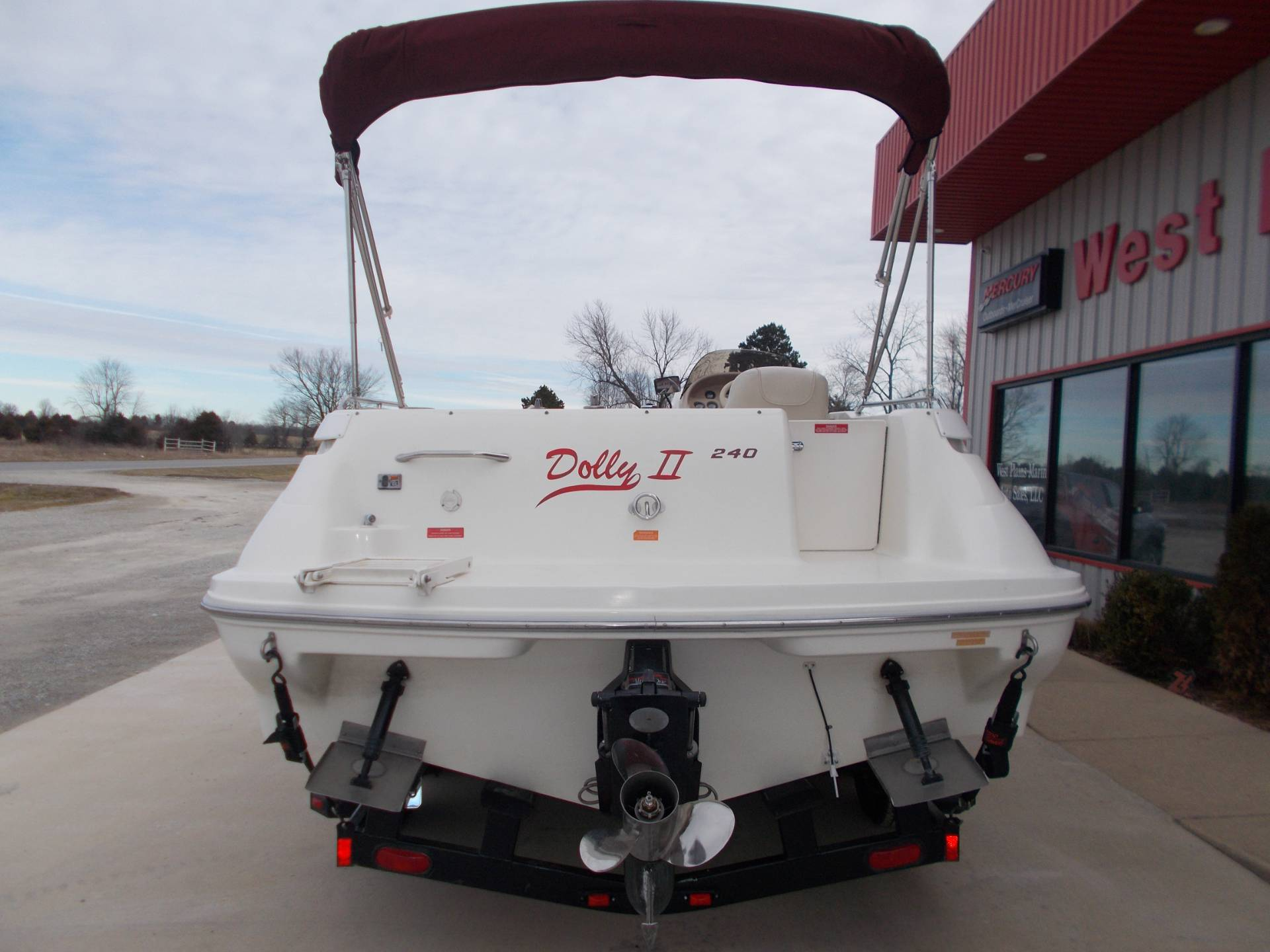1996 SEARAY SUNDECK 240 W/ 5.7L I/OW/ '96 TRAILER in West Plains, Missouri - Photo 10