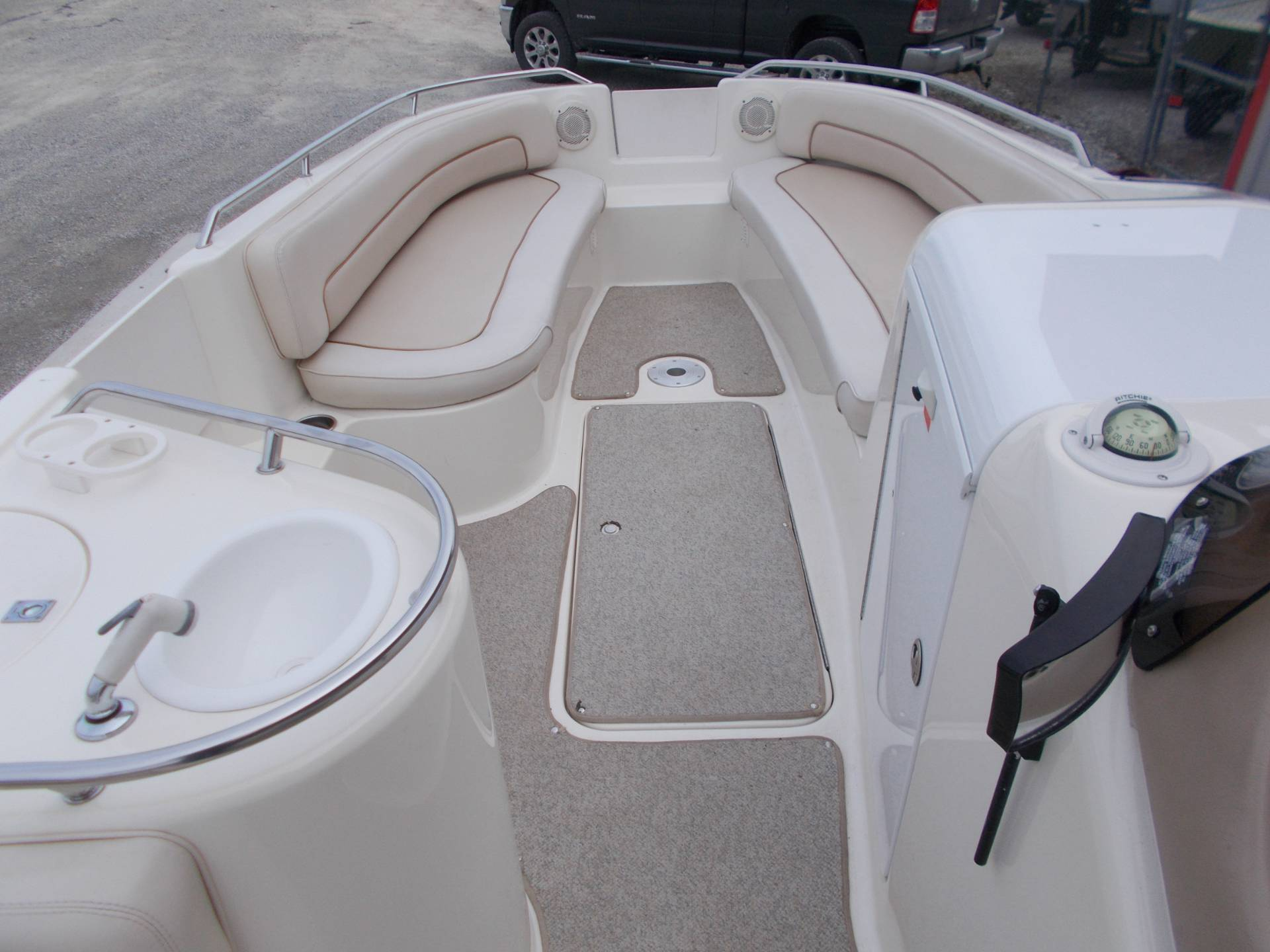 1996 SEARAY SUNDECK 240 W/ 5.7L I/OW/ '96 TRAILER in West Plains, Missouri - Photo 28