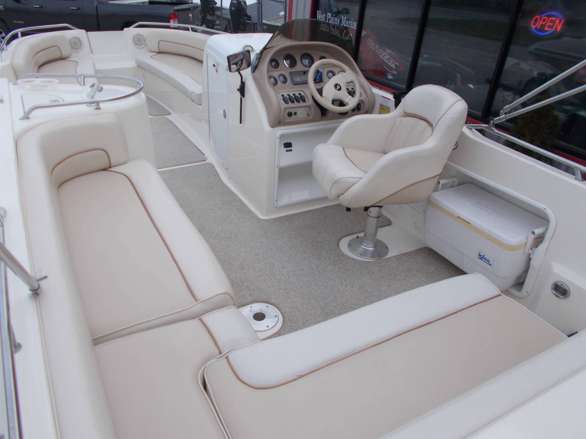 1996 SEARAY SUNDECK 240 W/ 5.7L I/OW/ '96 TRAILER in West Plains, Missouri - Photo 35