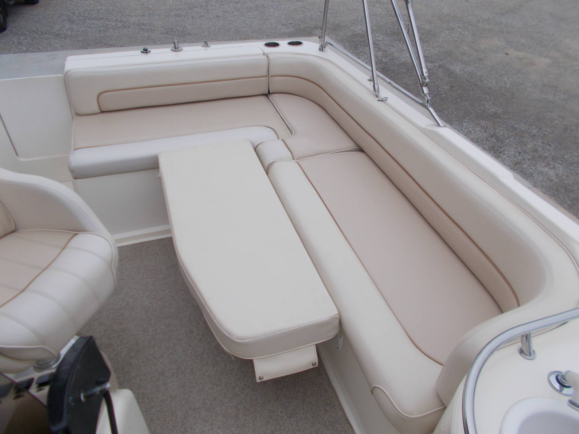 1996 SEARAY SUNDECK 240 W/ 5.7L I/OW/ '96 TRAILER in West Plains, Missouri - Photo 41