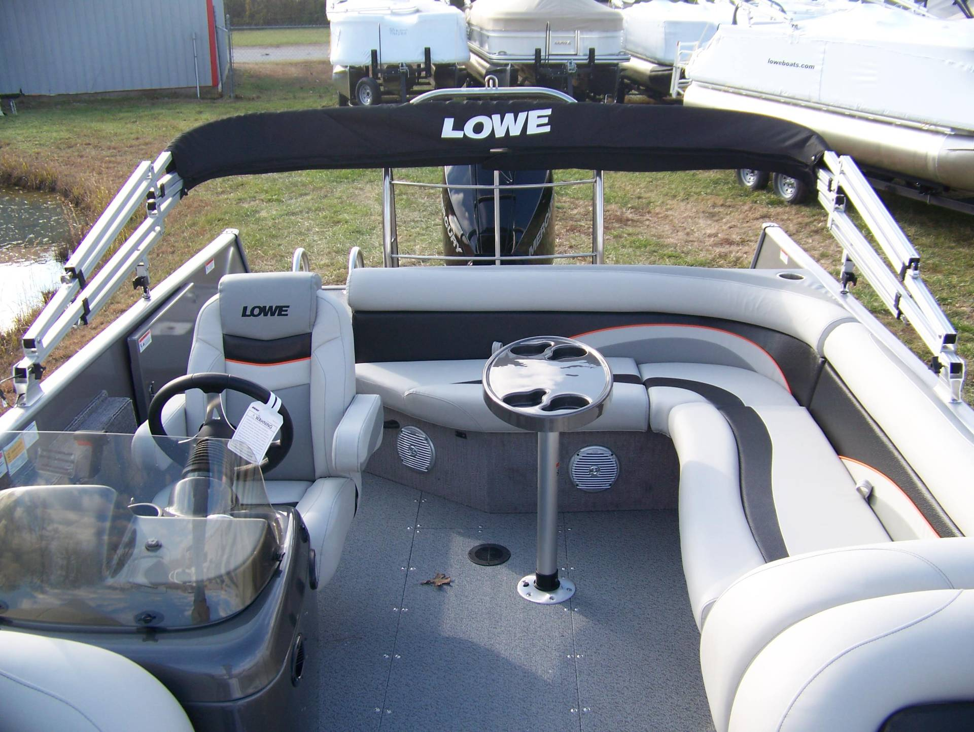 2019 Lowe SD224 DECK BOAT W/ MERCURY 175 & TRAILER in West Plains, Missouri - Photo 9