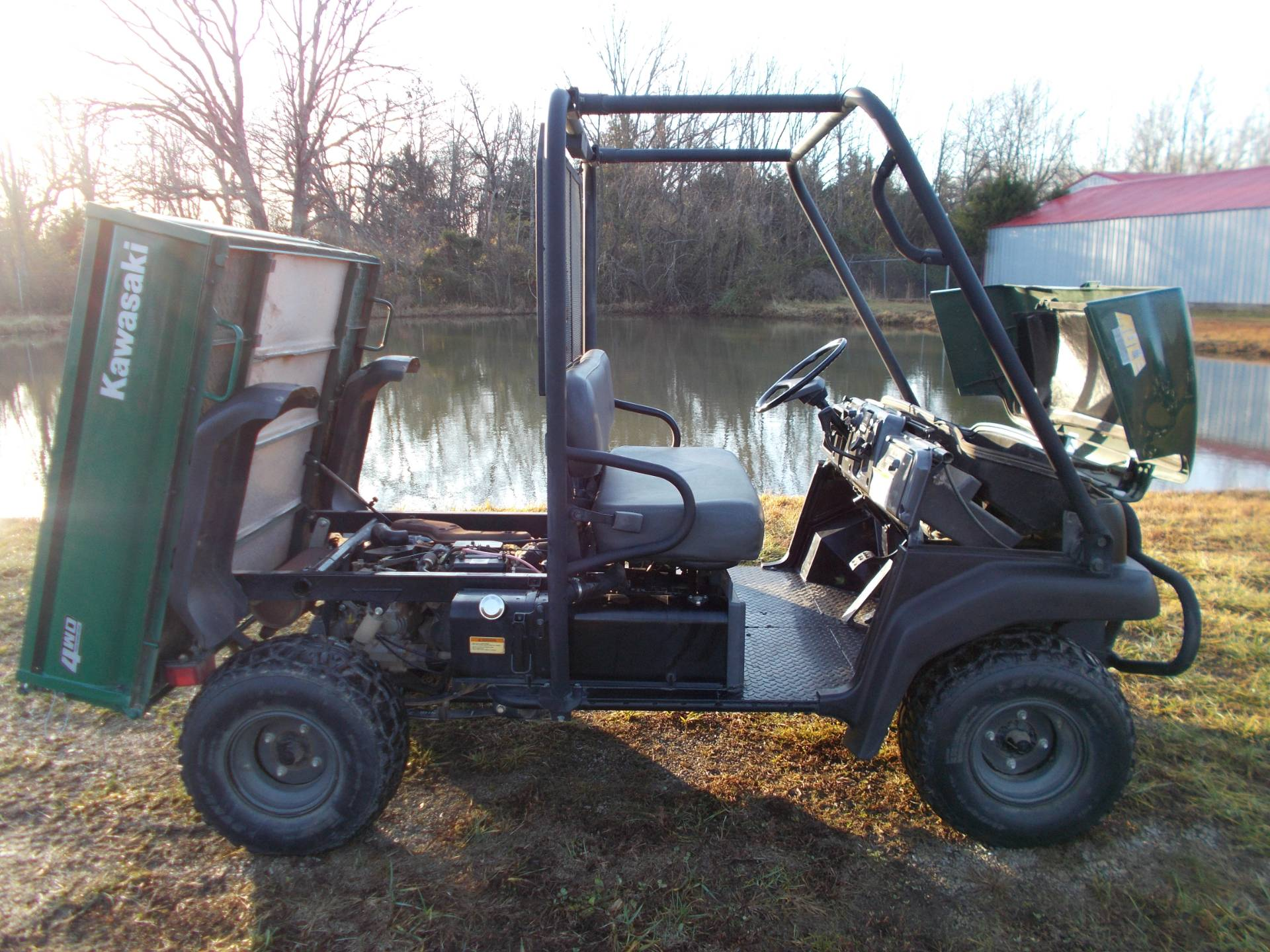 2007 Kawasaki MULE 3010 in West Plains, Missouri - Photo 2