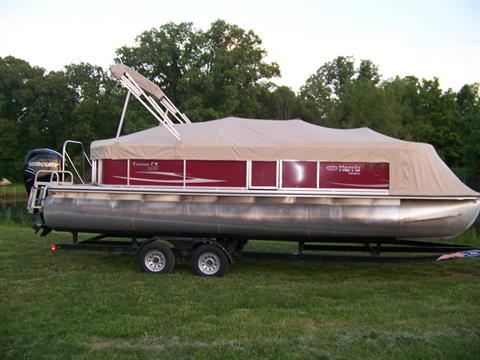 2011 Harris Flotebote HARRIS 2400 CRUISER TRIPLE LOG W/ MERCURY 150 VERADO & TRAILER in West Plains, Missouri