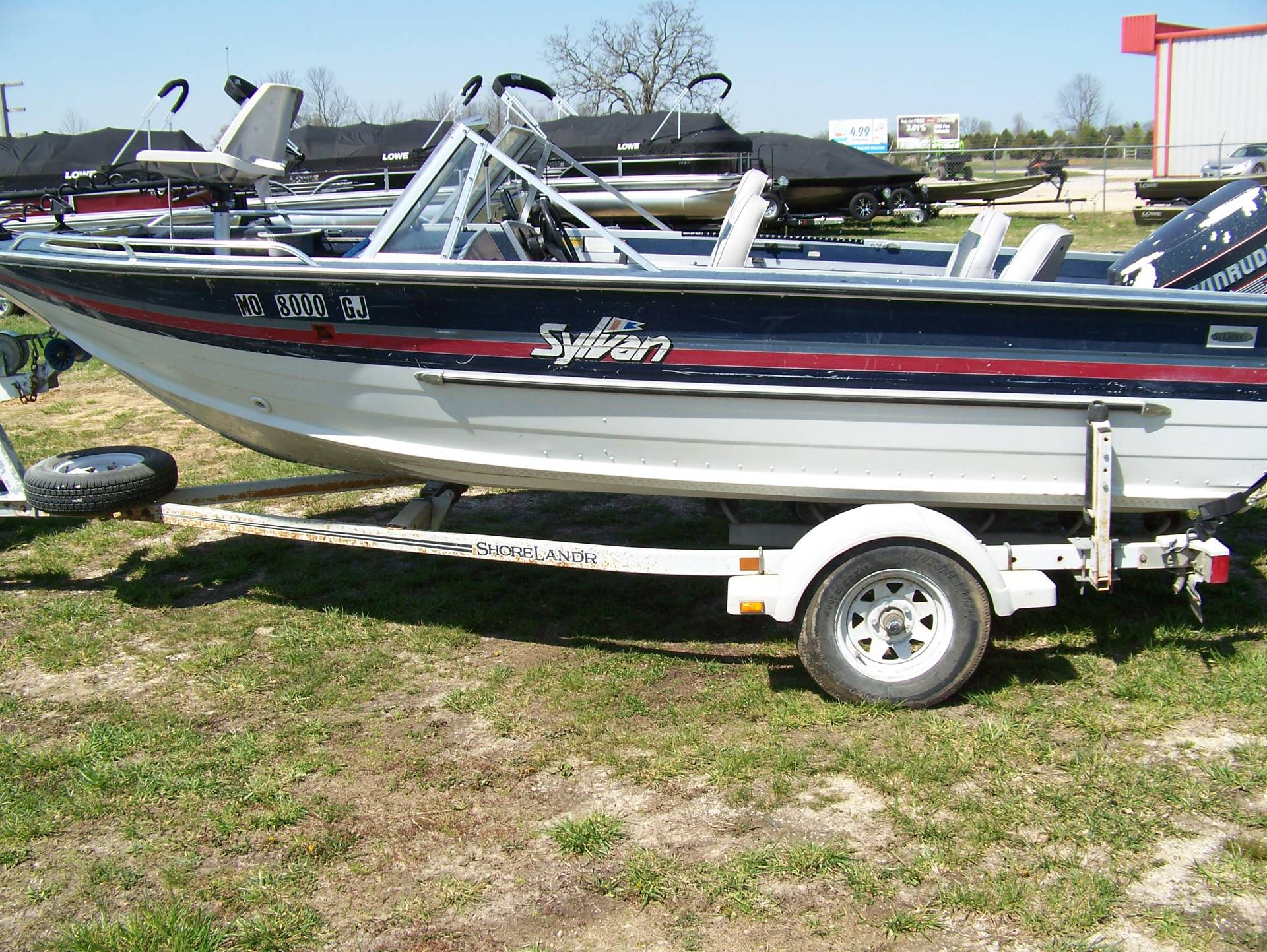 1987 Sylvan FISH & SKI 17FT in West Plains, Missouri