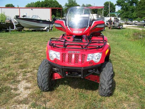 2010 Arctic Cat 550 PS EFI 4X4 WITH WINDSHIELD in West Plains, Missouri