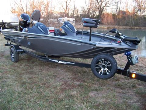 2018 Lowe STINGER 188 DUAL CONSOLE W/ MERCURY 115 PRO XS & TRAILER in West Plains, Missouri